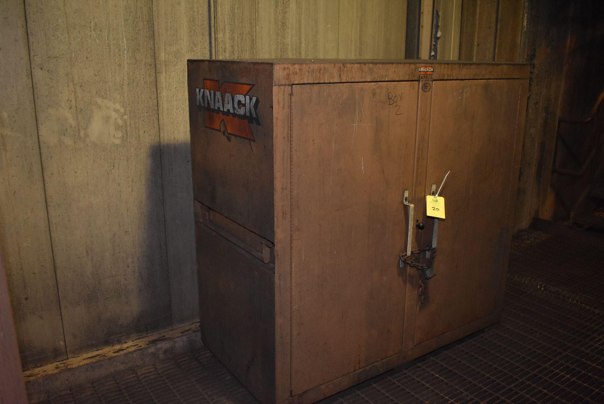 Lot 20 - Knaack Job Master 99 Job Box