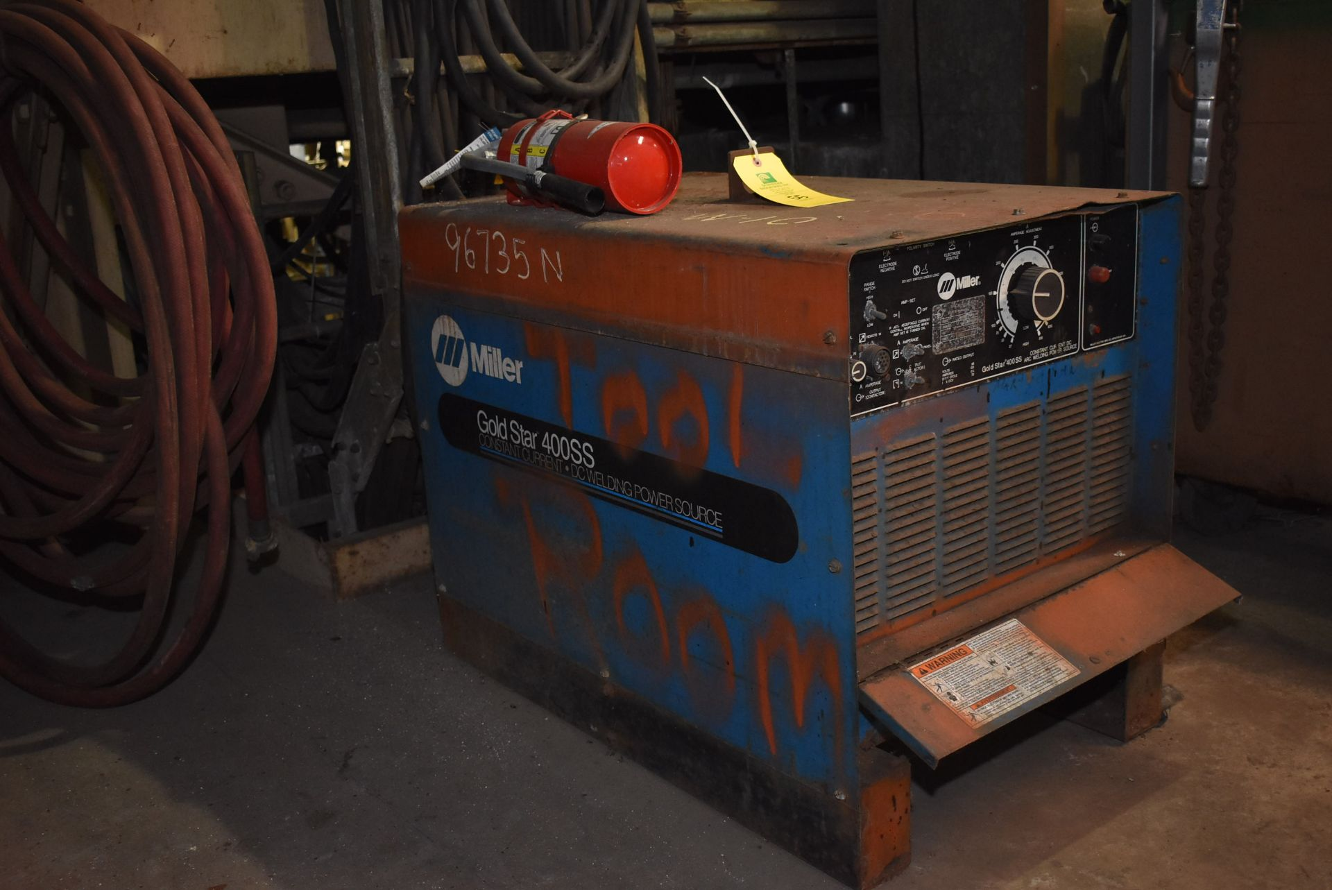 Lot 55 - Miller Gold Star 400 SS Welder, Stock #207692