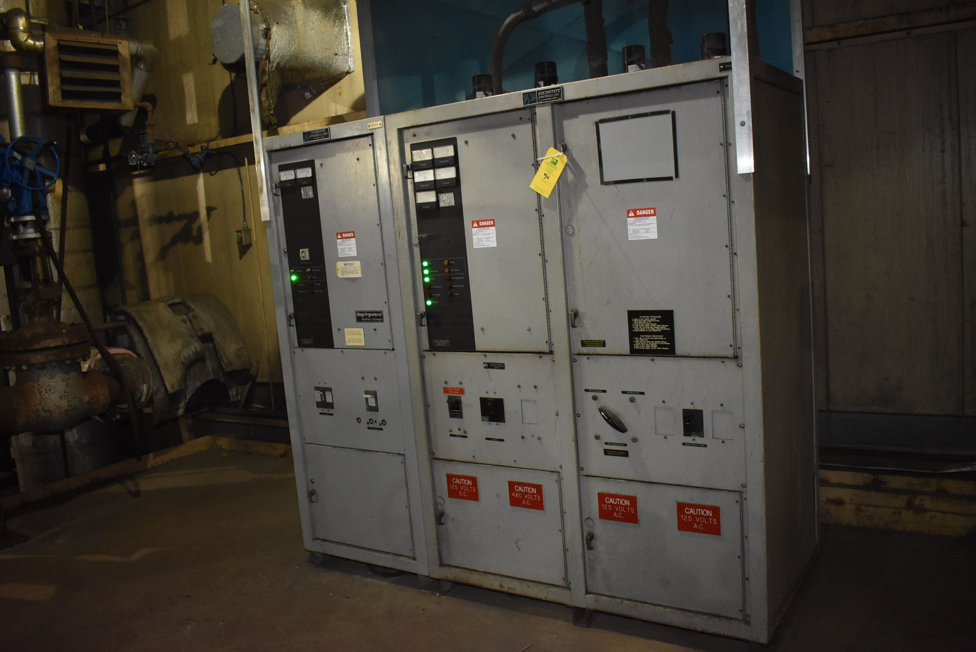 Lot 54 - Thyri-Power Battery Charging Station, Solid-state Control