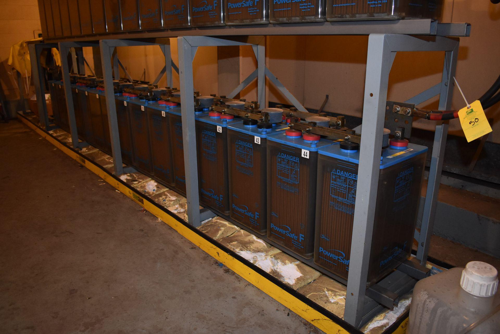 Lot 50 - 2014 Power Safe Type FTA-21P Nom-Capacity 1680 Amps/HR (1-Bank of 15)