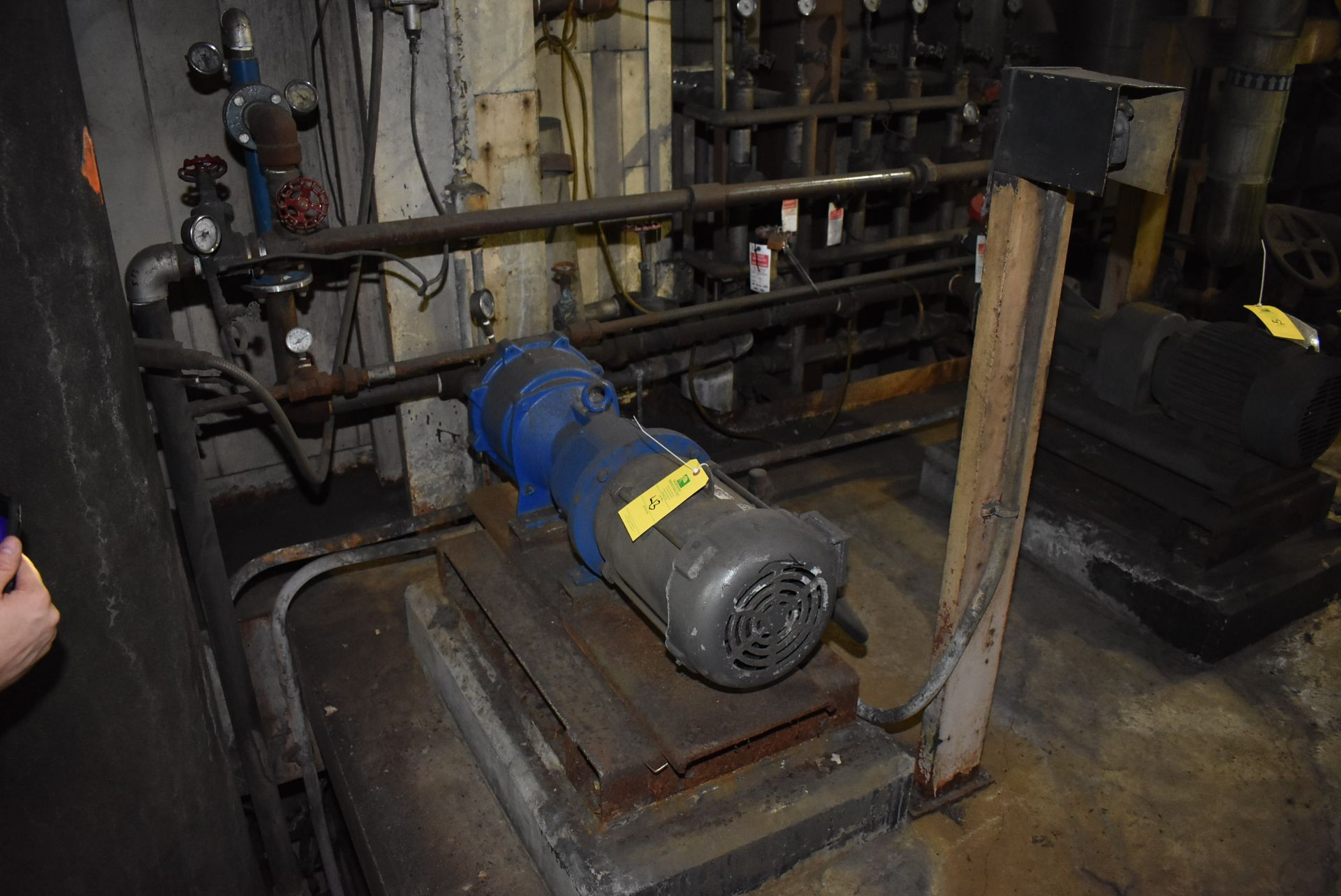 Lot 43 - Vacuum Pump, Approx. 5 HP