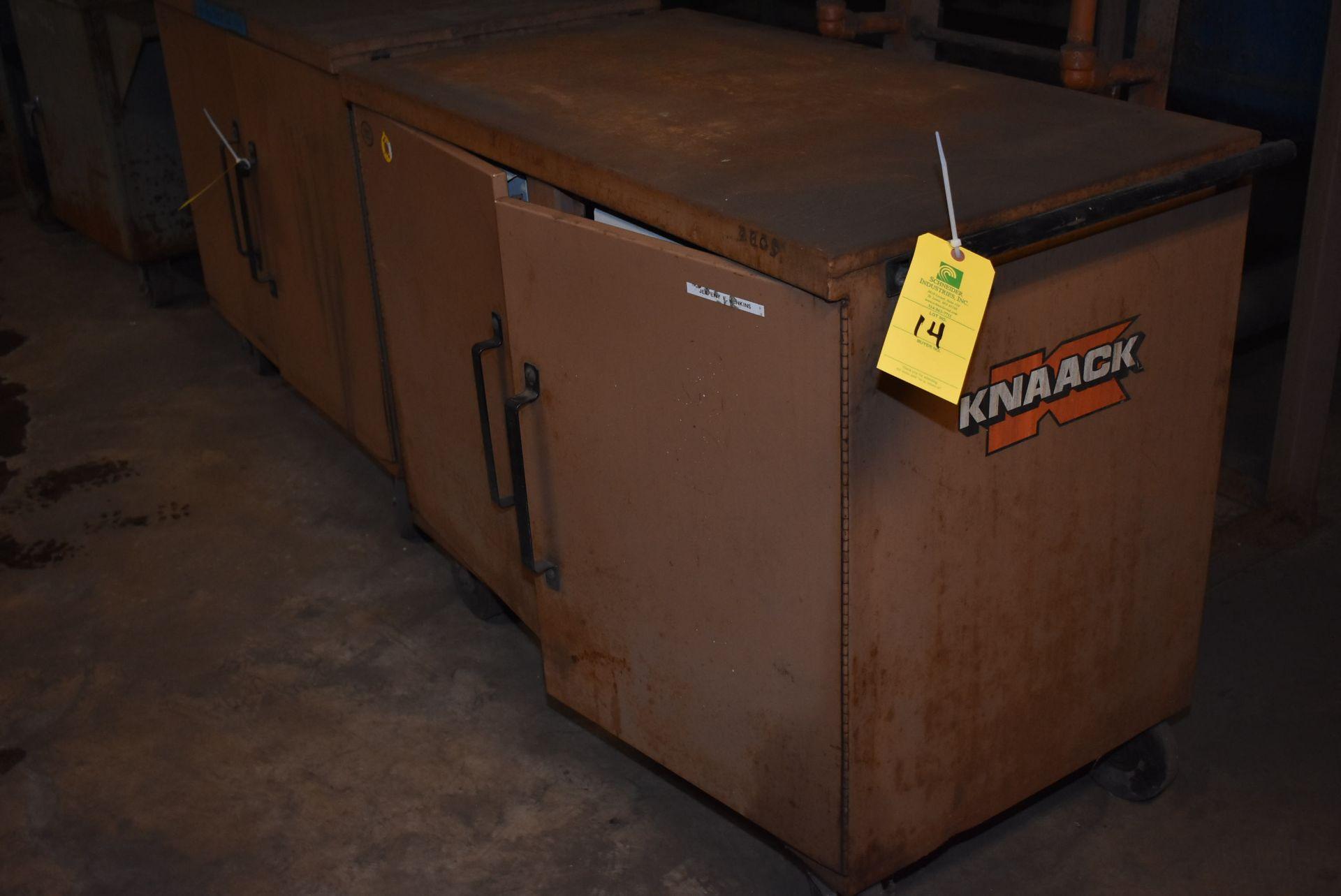 Lot 14 - Knaack Storagemaster Master 4S Job Box