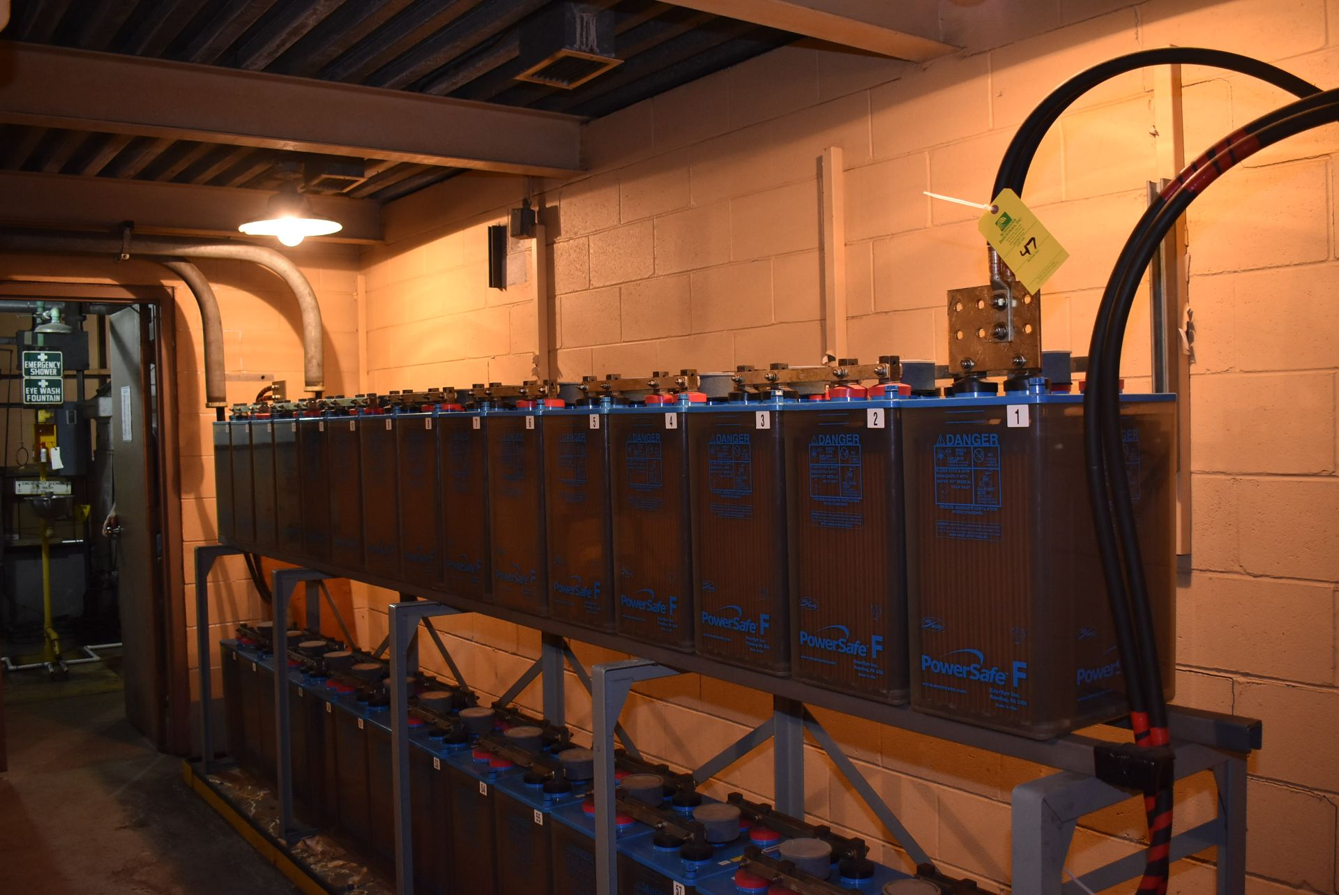 Lot 47 - 2011 Power Safe Type FTA-21P Nom-Capacity 1680 Amps/HR (1-Bank of 15)