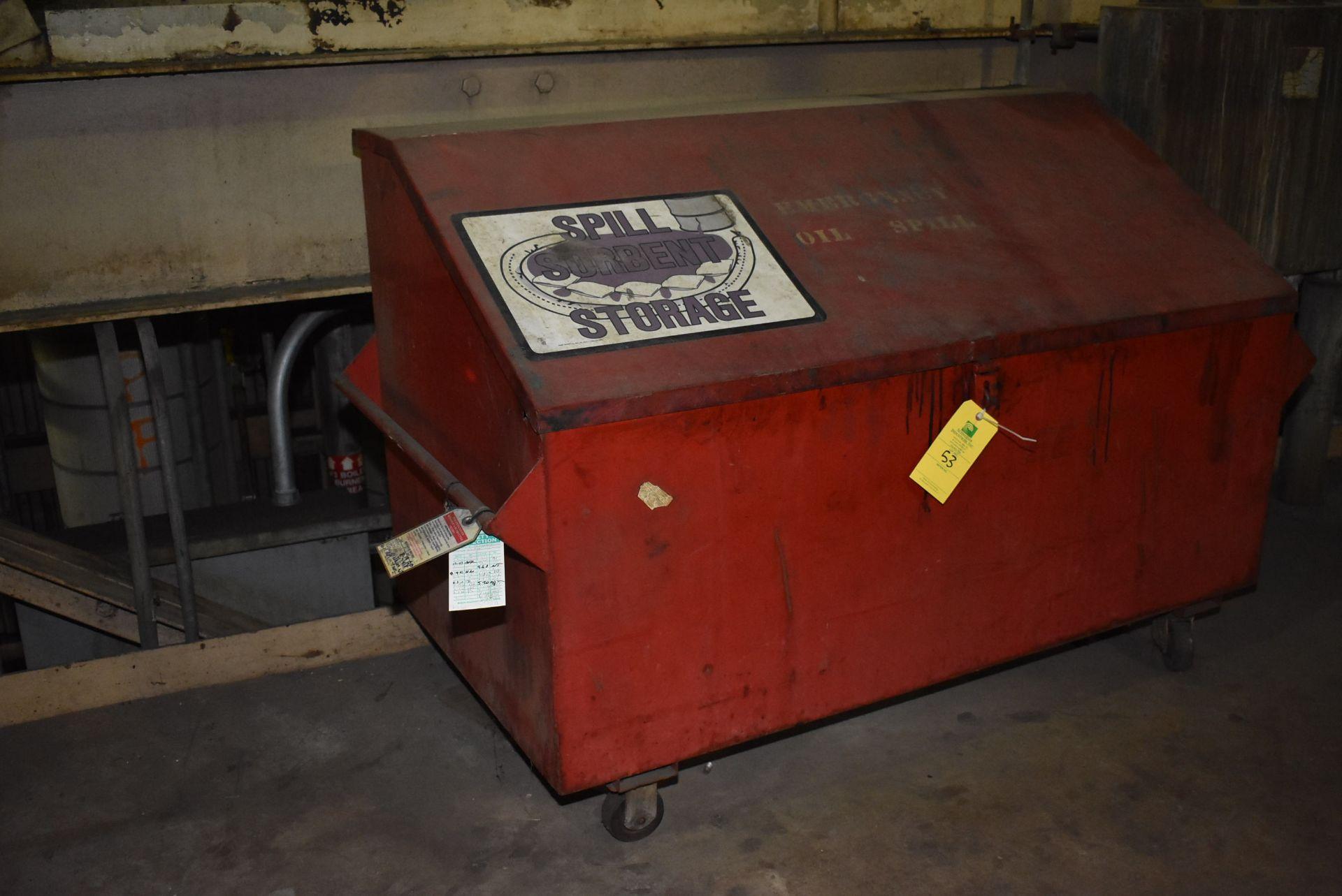 Lot 53 - Job Box w/4-Wheel Base