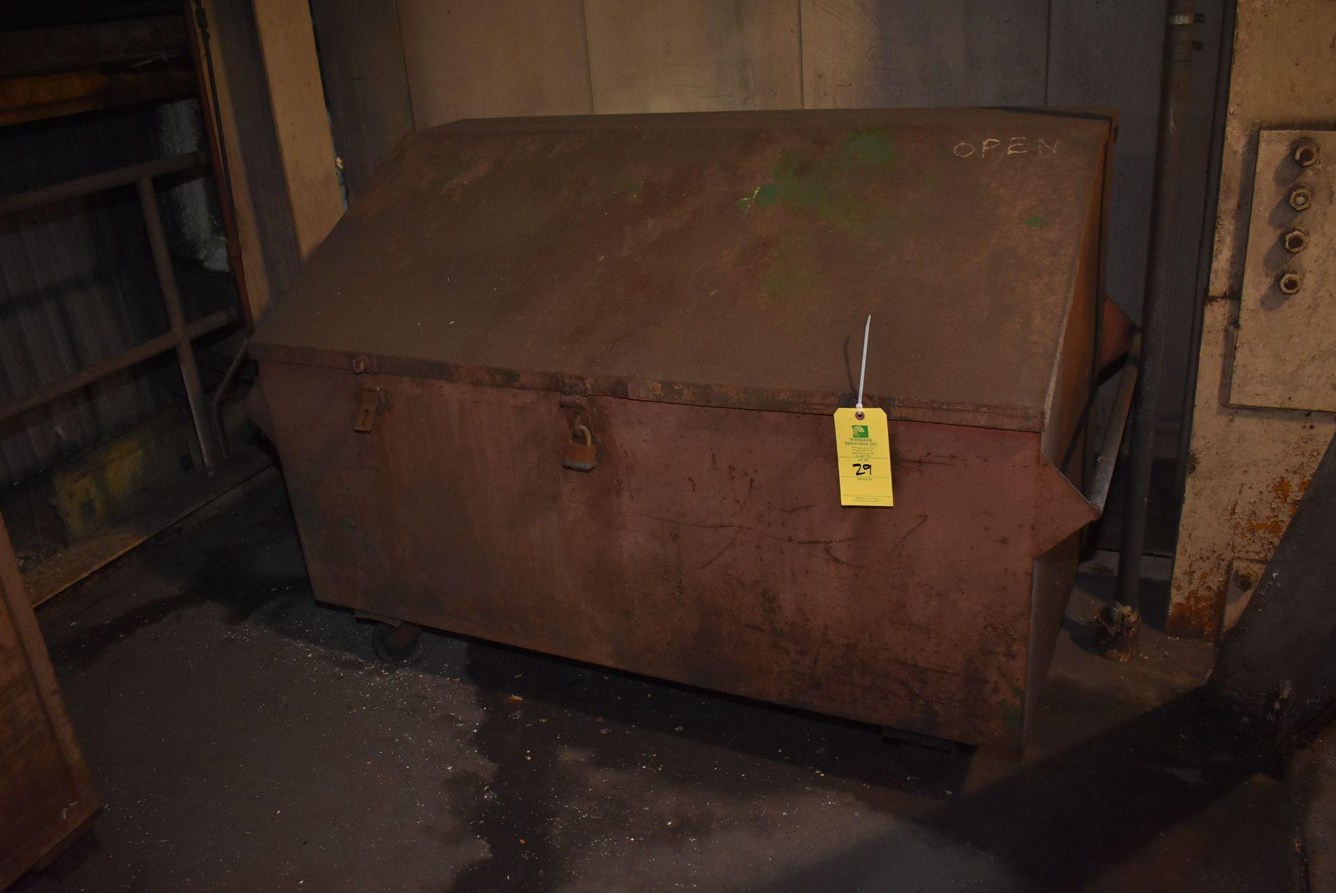 Lot 29 - Job Box, 4-Wheel Base