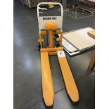 EconoLift Skid Lifter, Model# PE50S/L, Max Cap 1,100 lbs., Removal Fee: $30