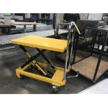 Portable Lift Table, Removal Fee: $20