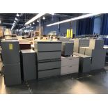 (30) Miscellaneous Filing Cabinets, Removal Fee: $50