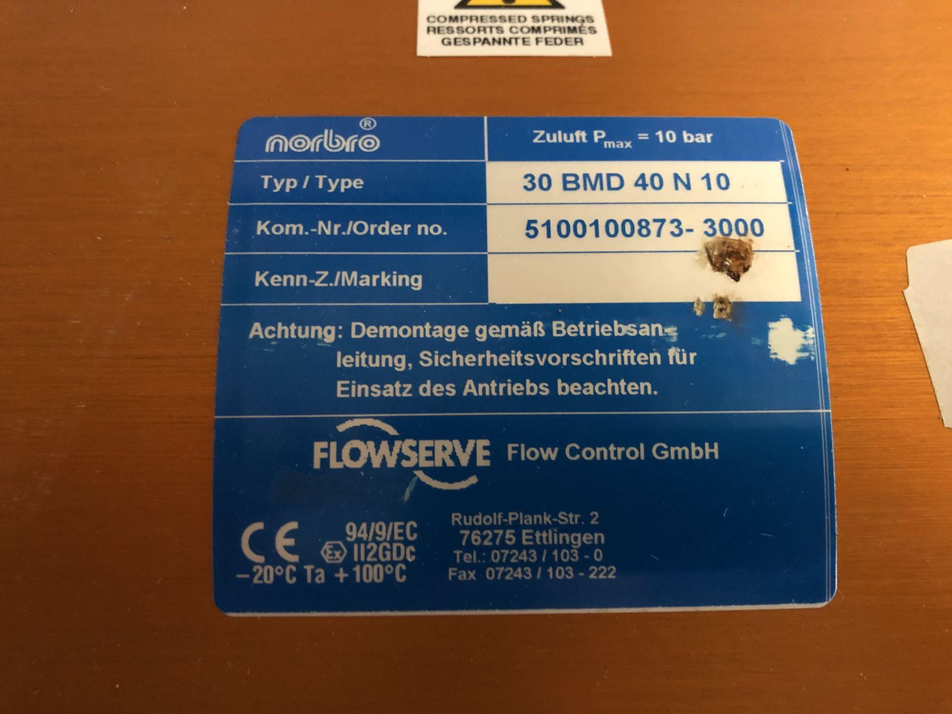 Lot 72A - Flow Control GMbH, Model #30 BMD-40-N-10