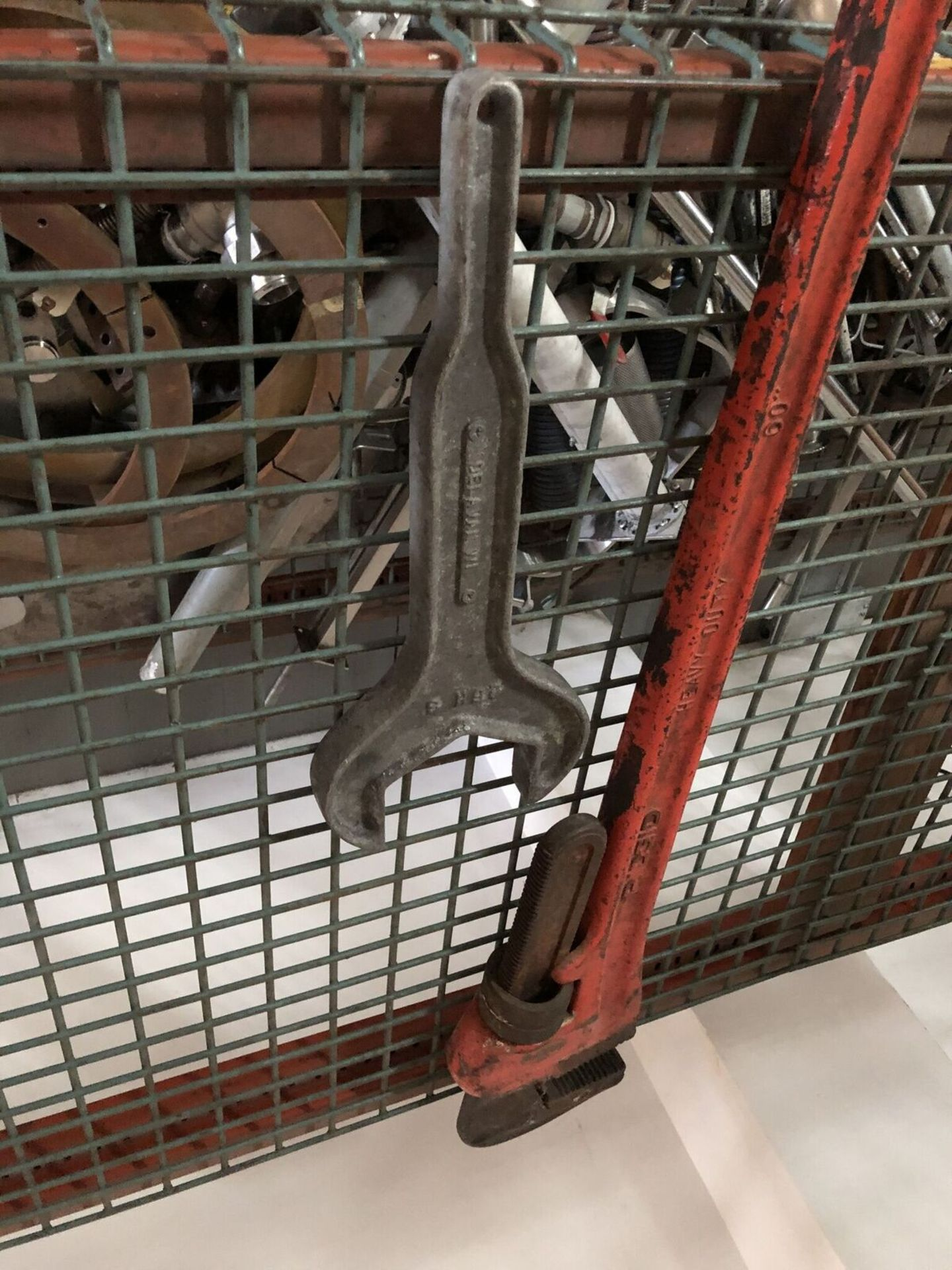 Lot 65 - (2) Extended Size Wrenches