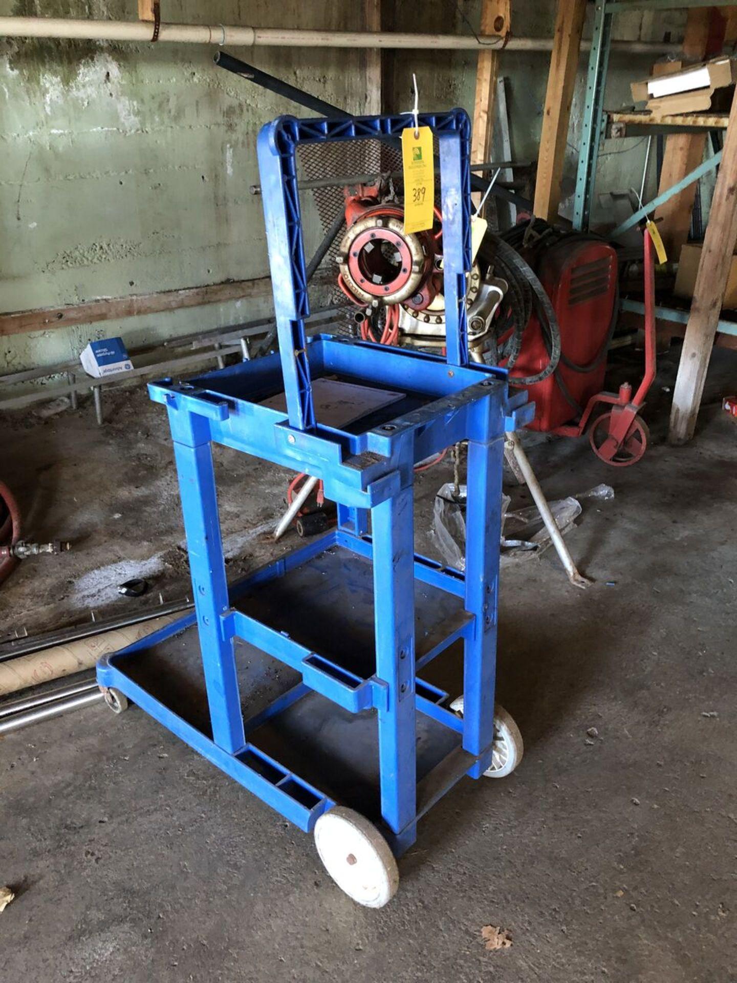 Lot 389 - Blue Push Cart