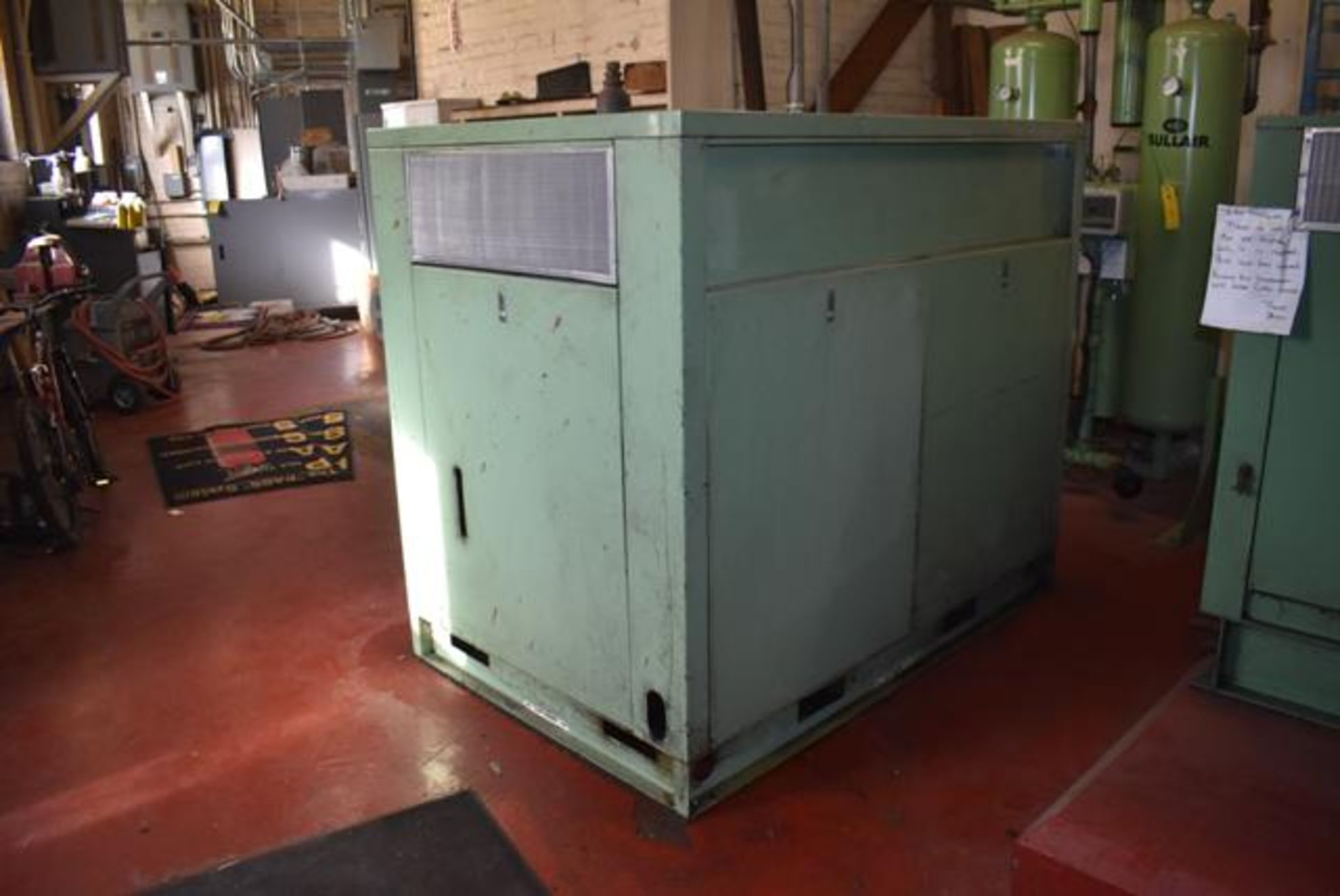 Lot 339 - Sullair Model #LS-16 Rotary Screw Air Compressor, 75 HP Motor, 81329 Hrs. Indicated