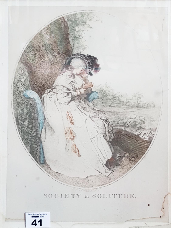 Lot 41 - Two 19th Century Prints.