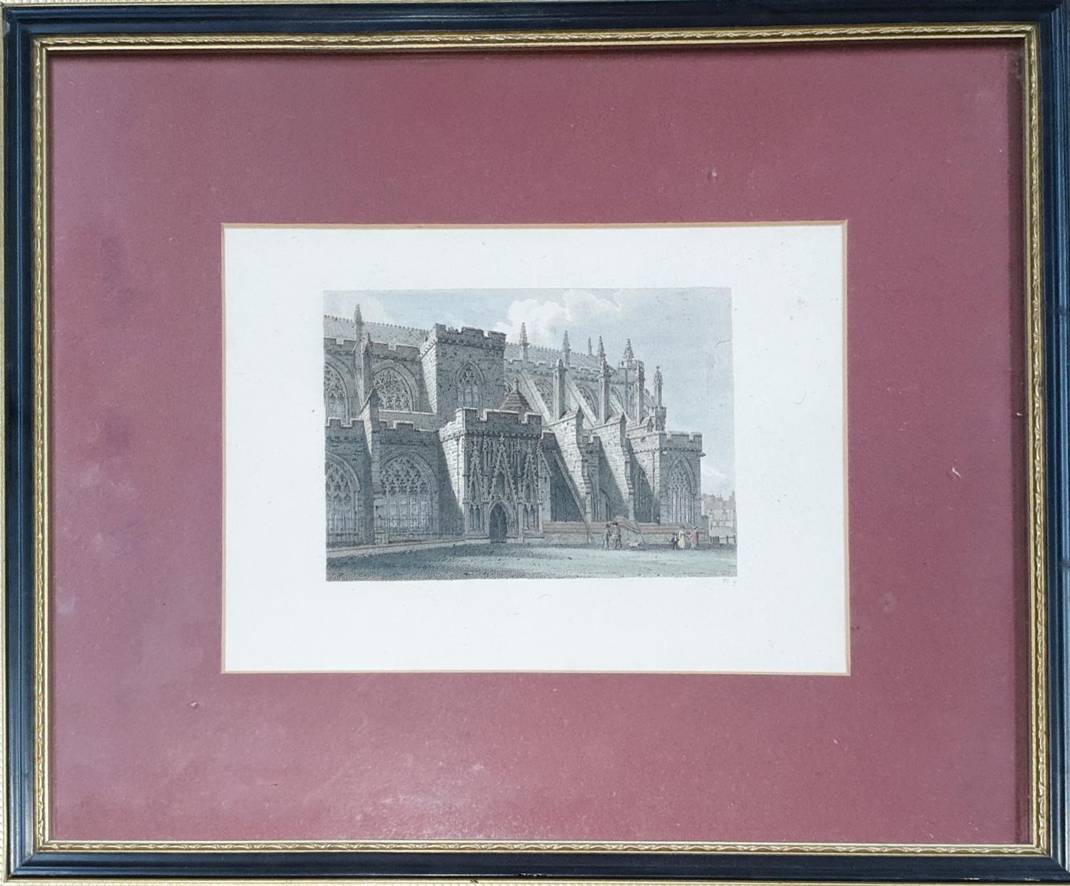Lot 729 - A set of Coloured Engravings of Exeter.
