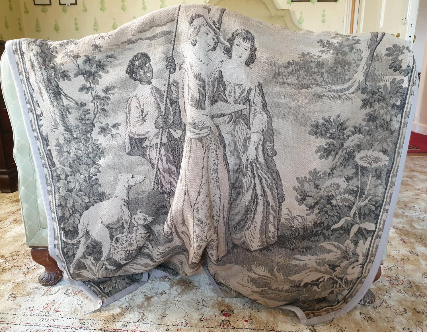 Lot 89 - A good Tapestry with a classicaL scene.