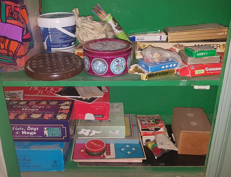 Lot 349 - A quantity of Vintage Games etc.