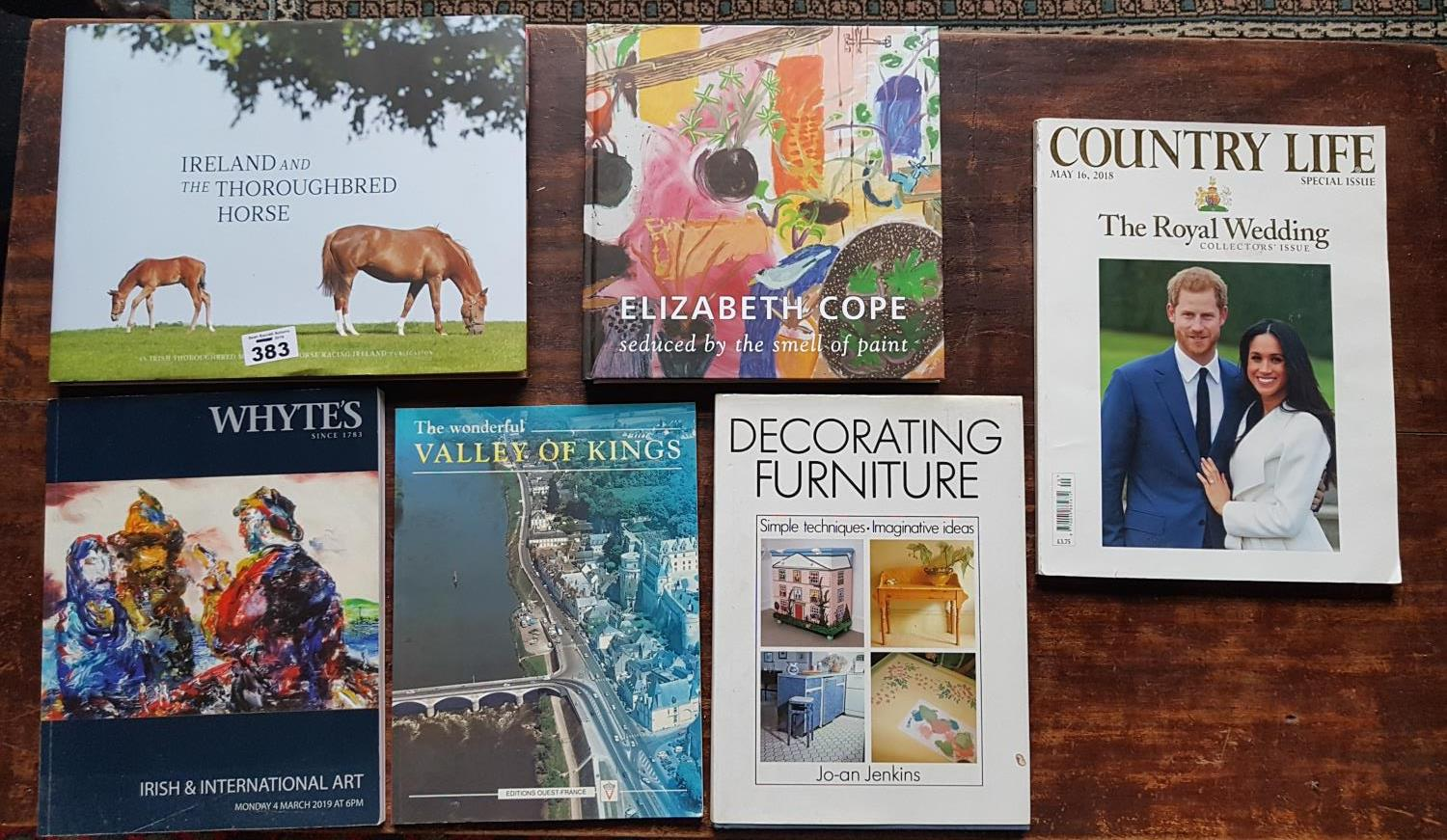 Lot 383 - Ireland and the Irish Thoroughbred Horse along with a quantity of Country Life Magazines.