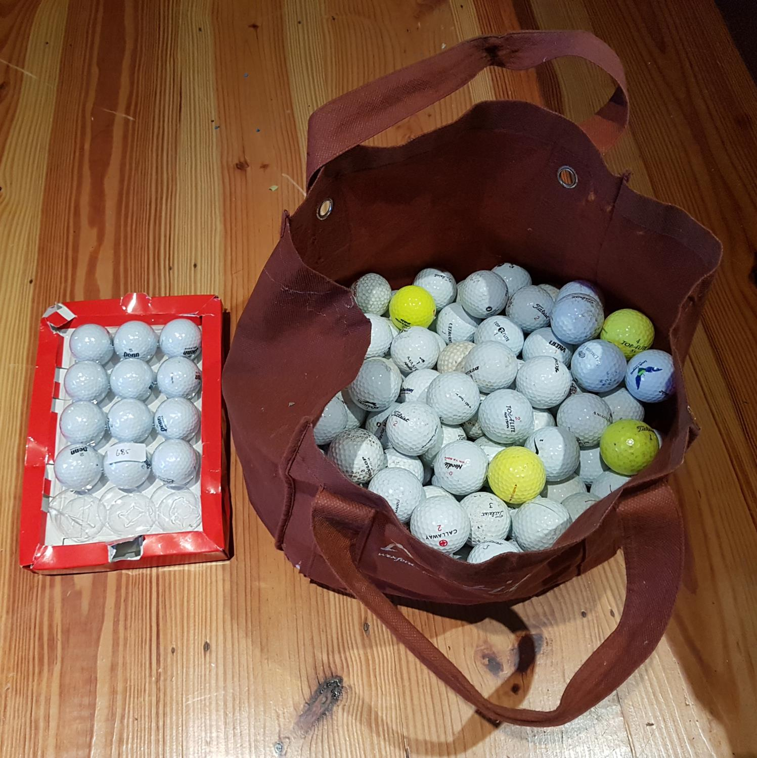 Lot 685 - A quantity of Golf Balls.