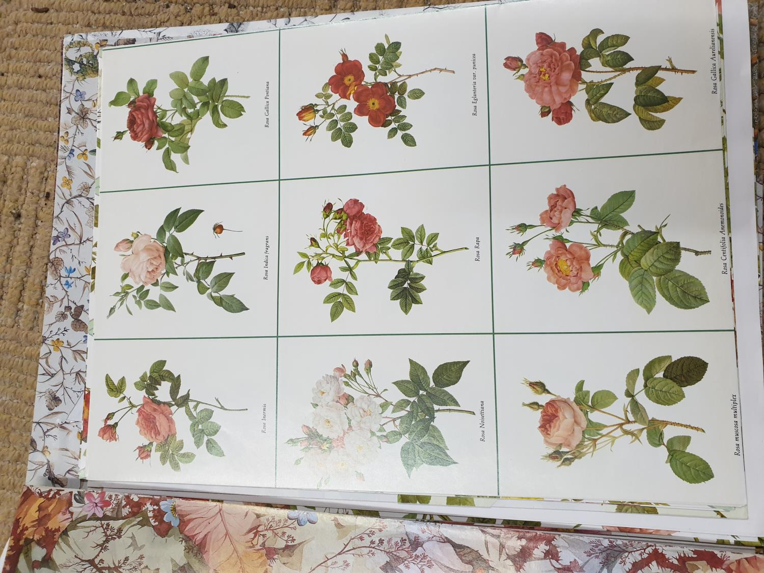 Lot 735 - Two boxes of Vintage Wallpaper.