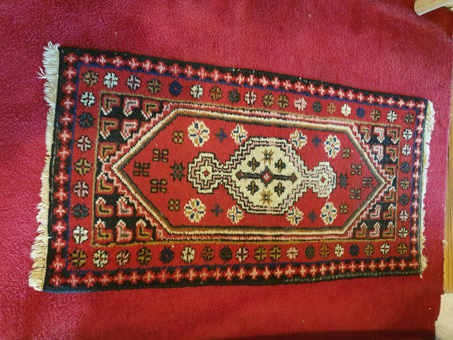 Lot 52A - A small Eastern Rug.