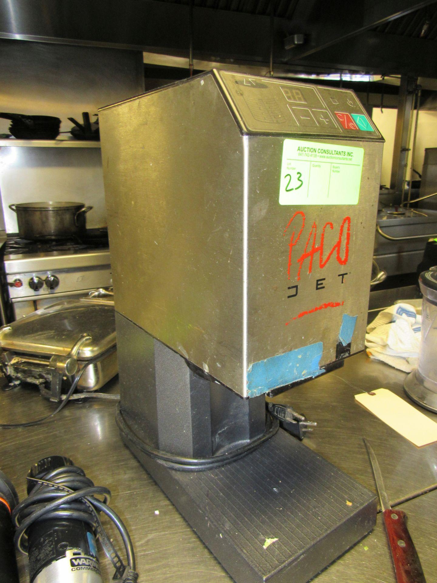 Lot 23 - Paco Jet frozen dessert system