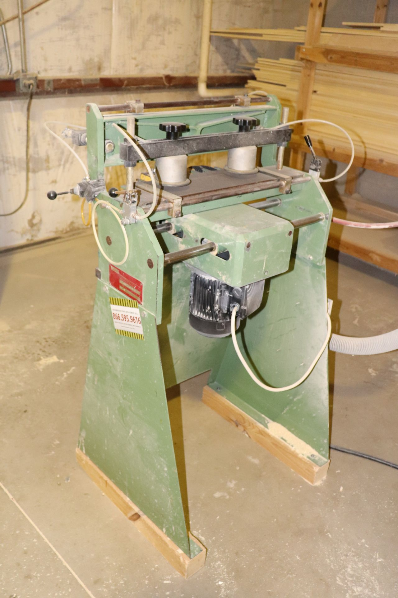 Lot 172 - Dodds model SE1 dovetail machine, serial D94094-188
