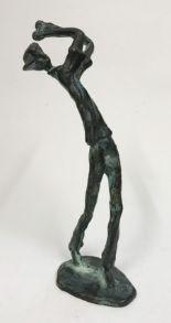 Lot 42 - Vintage Bronze Figurine - Golf Player