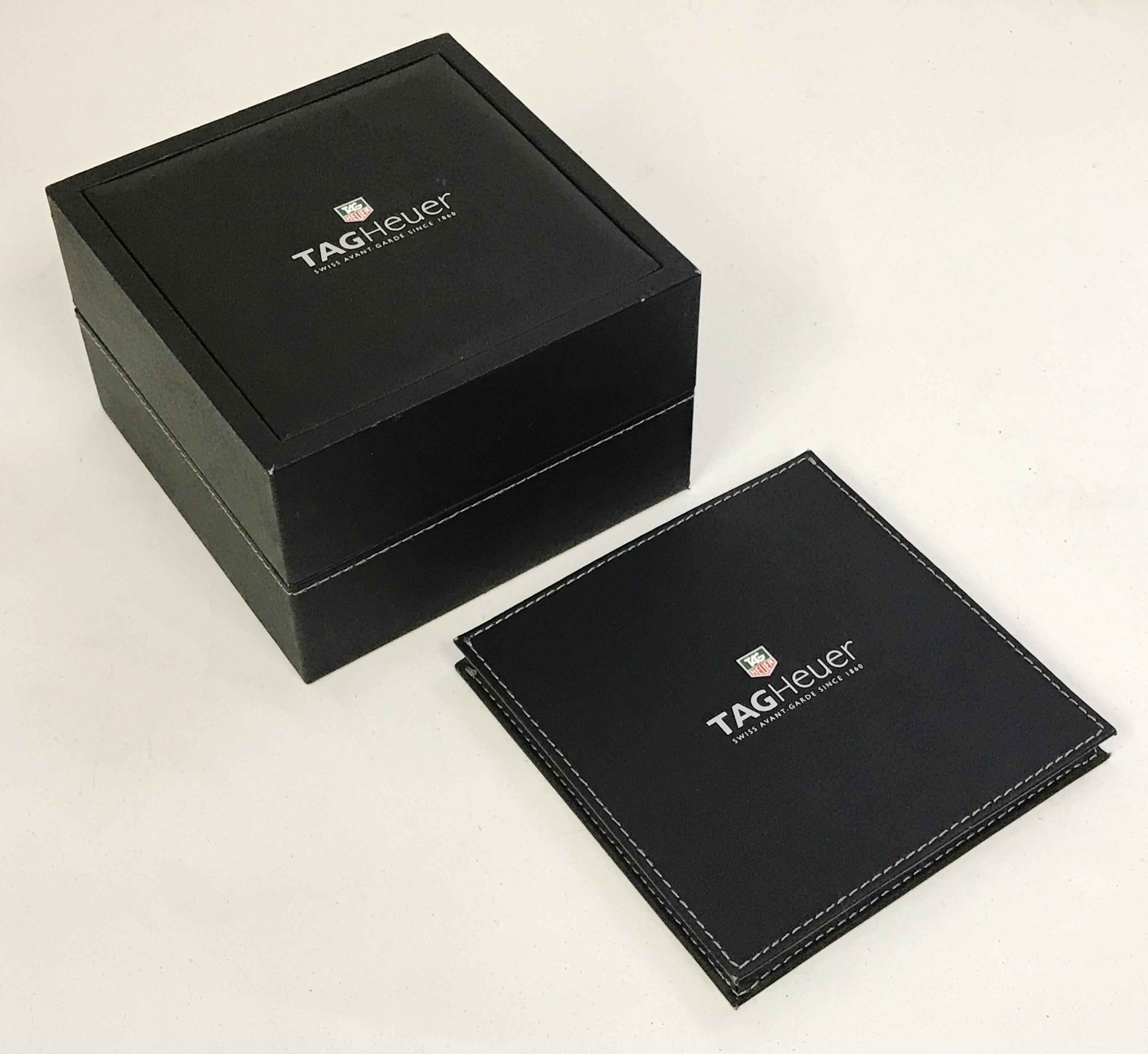 Lot 45 - Tag Hauer Gents Boxed Wristwatch - Calibre 5