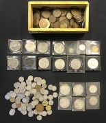Lot 37 - Collection of coins including Silver coins