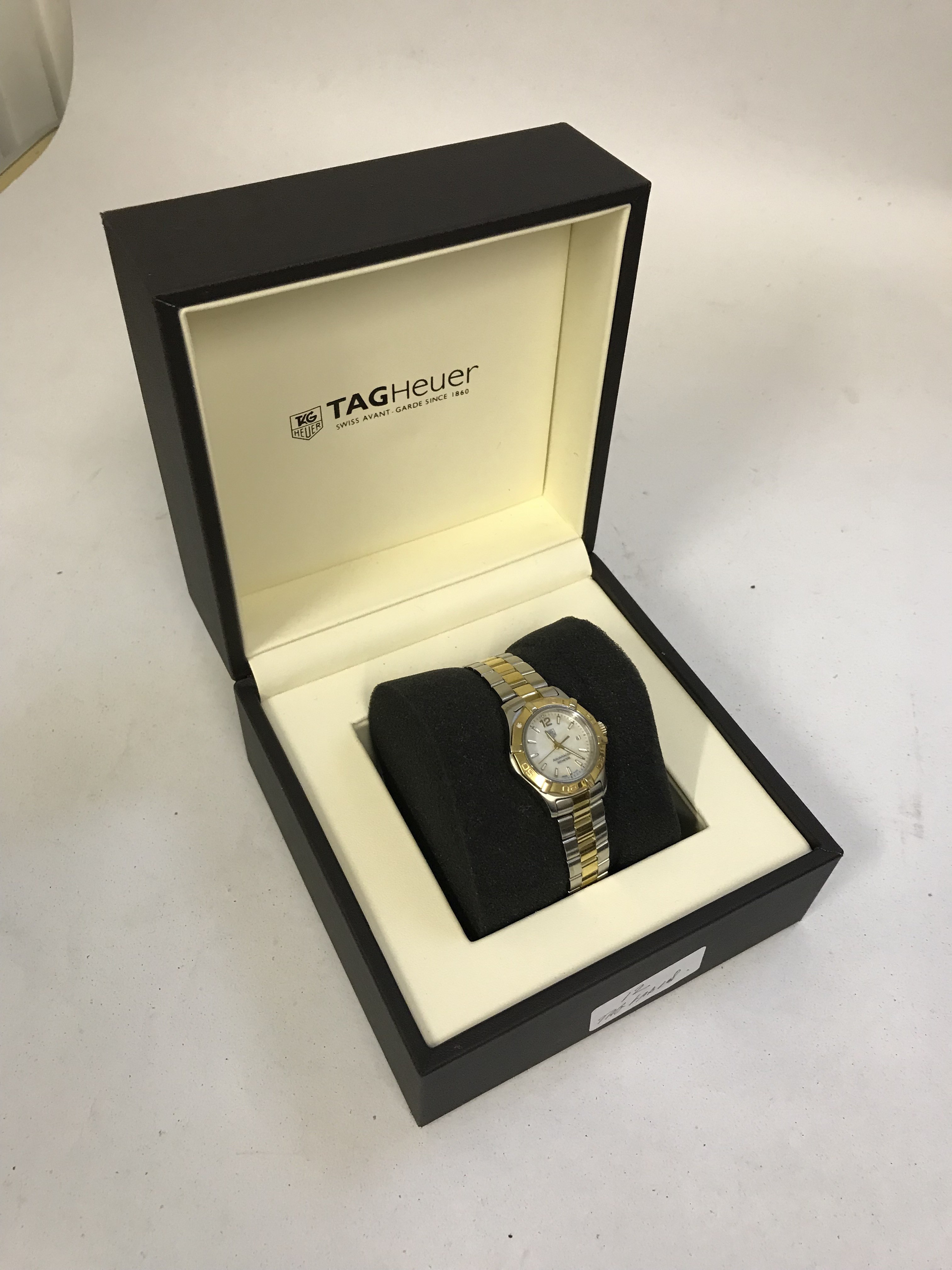 Lot 17 - Tag Hauer Ladies Boxed Wristwatch