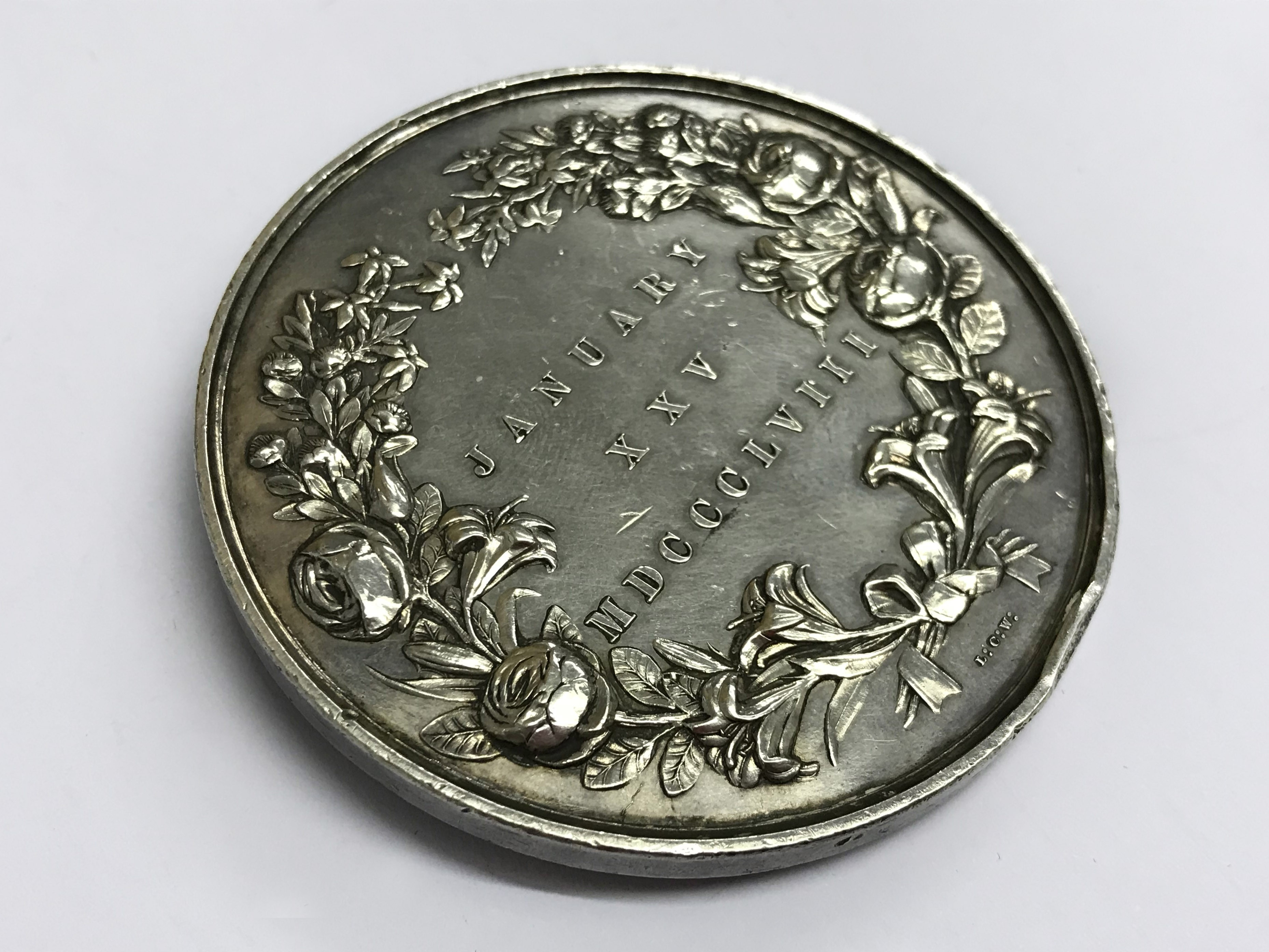 Lot 32 - Medal commemorating the marriage of the Princess Royal and Prince Frederick William of Prussia 1858