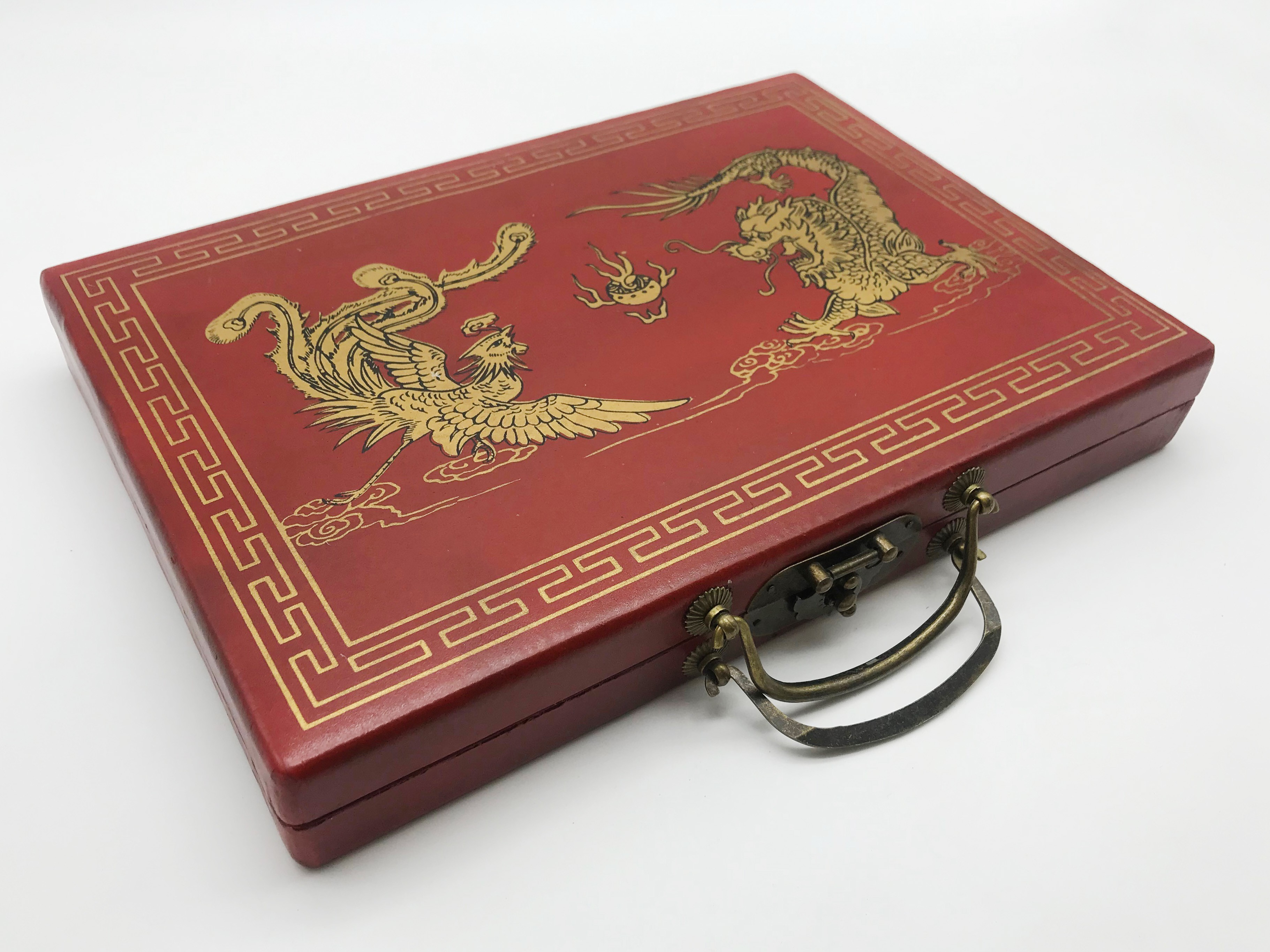 Lot 100 - VINTAGE MAH JONGG GAME CASED
