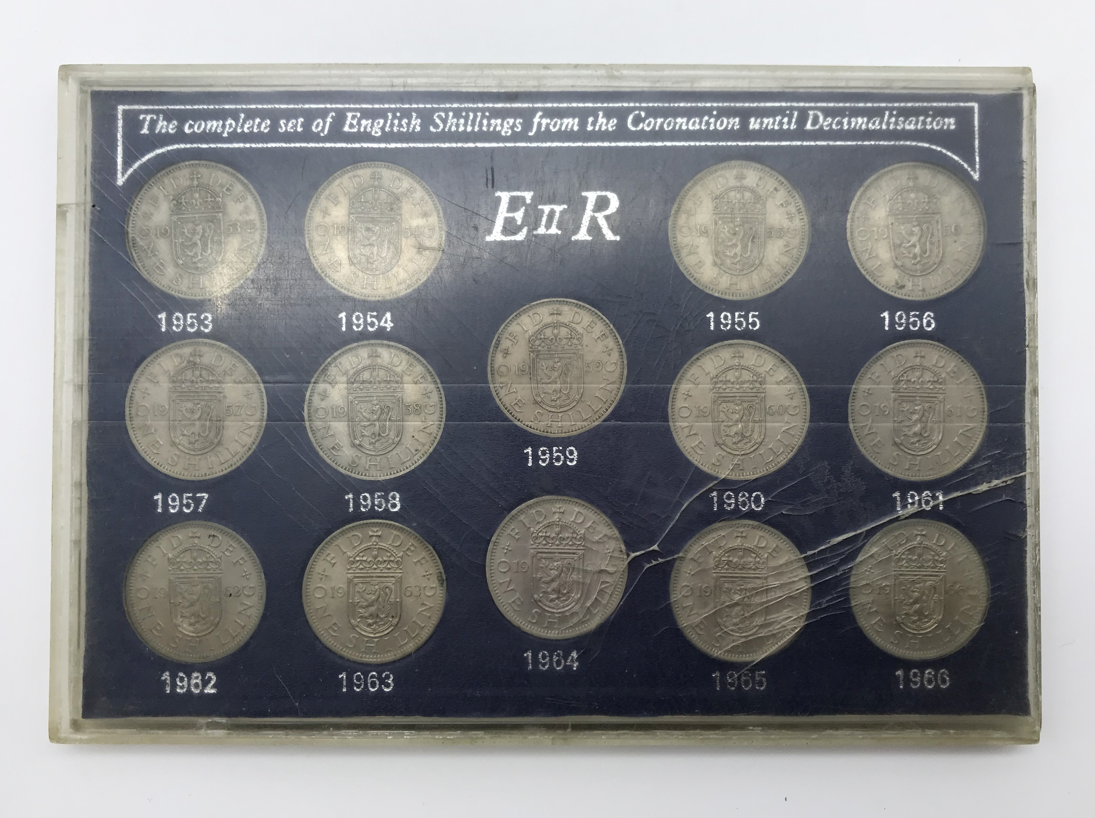 Lot 59 - SELECTION OF COINS INCLUDING SPECIMEN COIN SET 1937