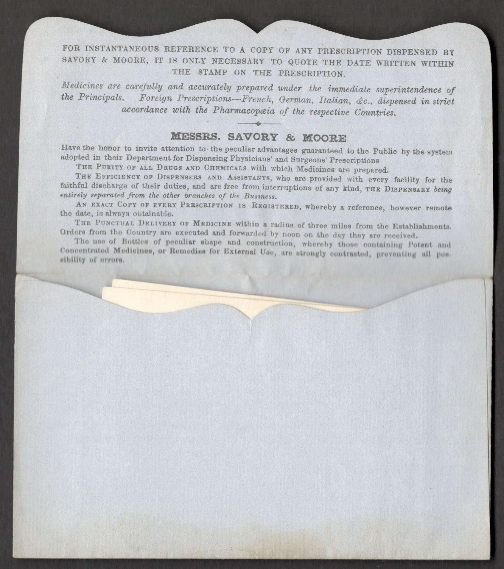 Lot 18 - PHARMACY PRESCRIPTION ENVELOPES (3)