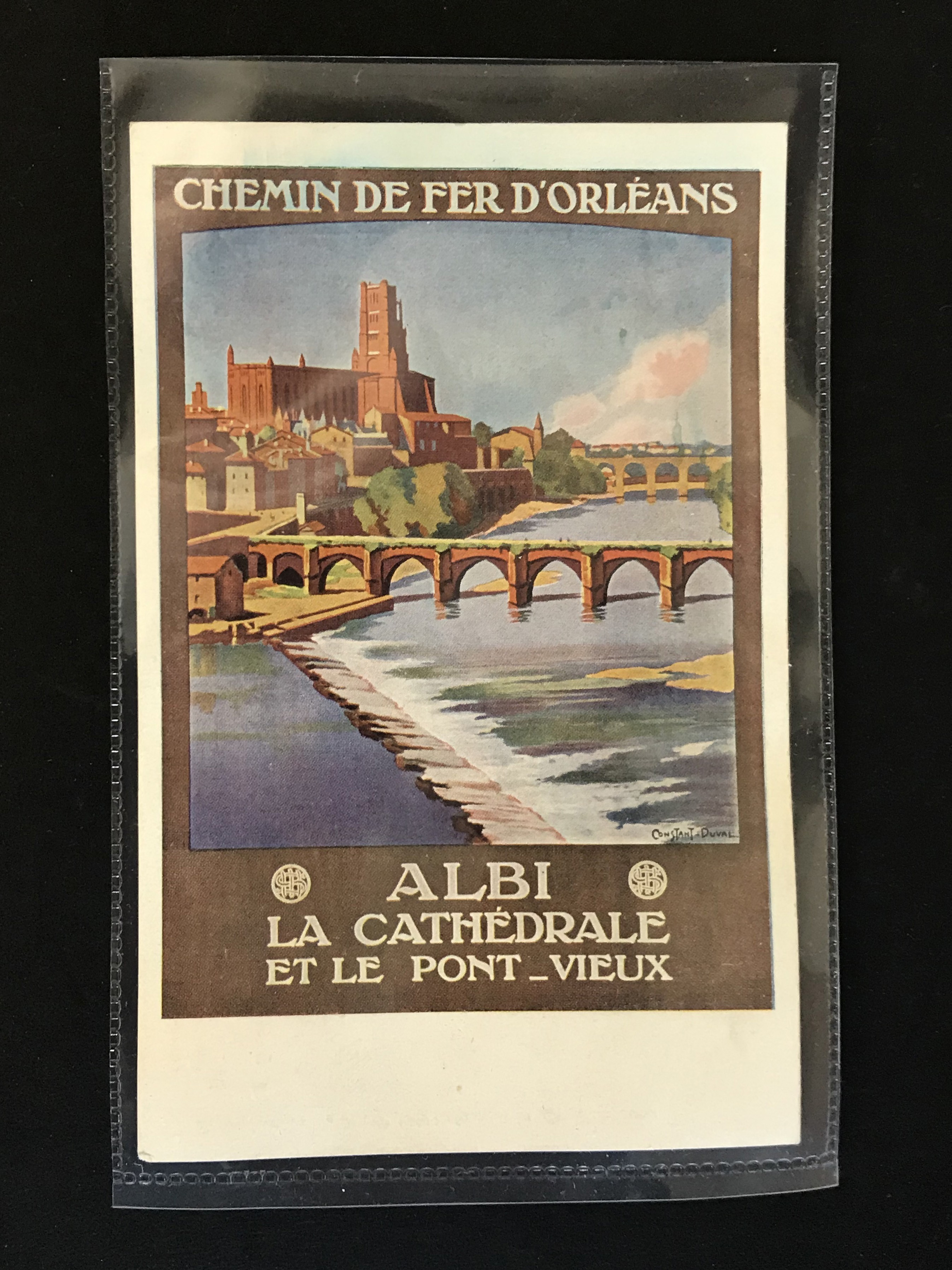 Lot 35 - SIX FRENCH OLD POSTCARDS PROMOTING TOURIST DESTINATIONS