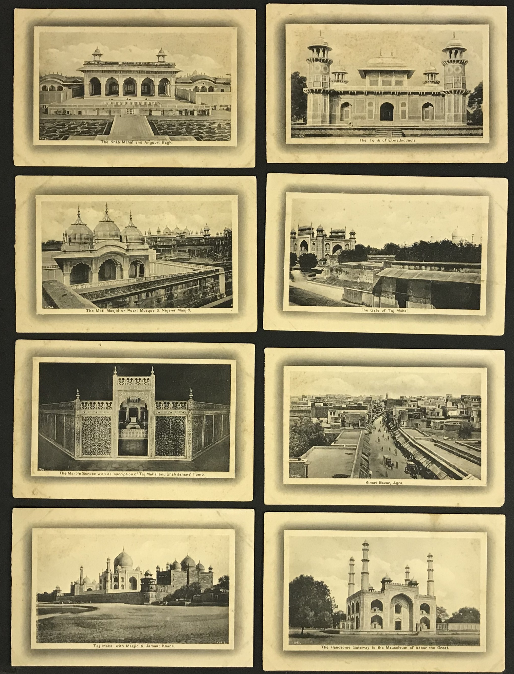 Lot 13 - H.A. MIRZA & SONS DELHI - POSTCARDS OF INDIA (20) PRINTED IN SAXONY