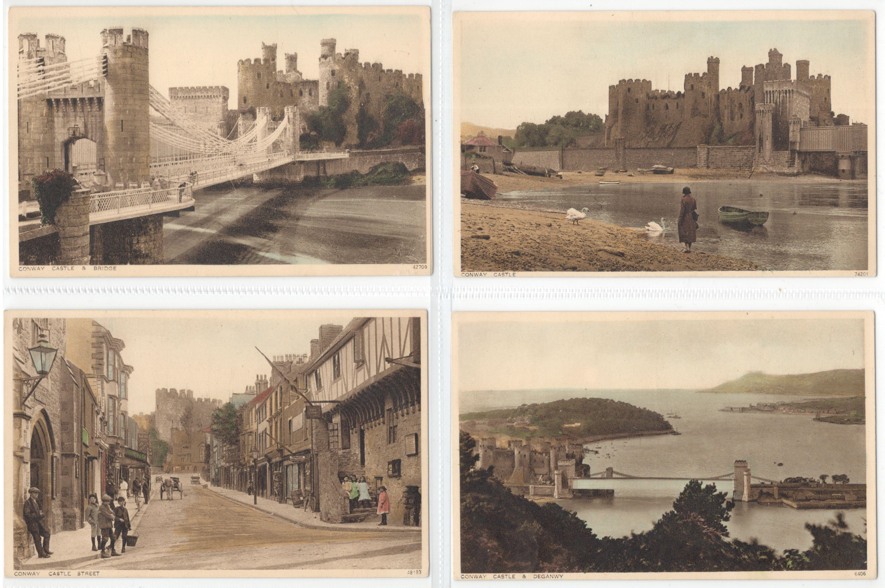 Lot 27 - SET OF TEN POSTCARDS CONWAY