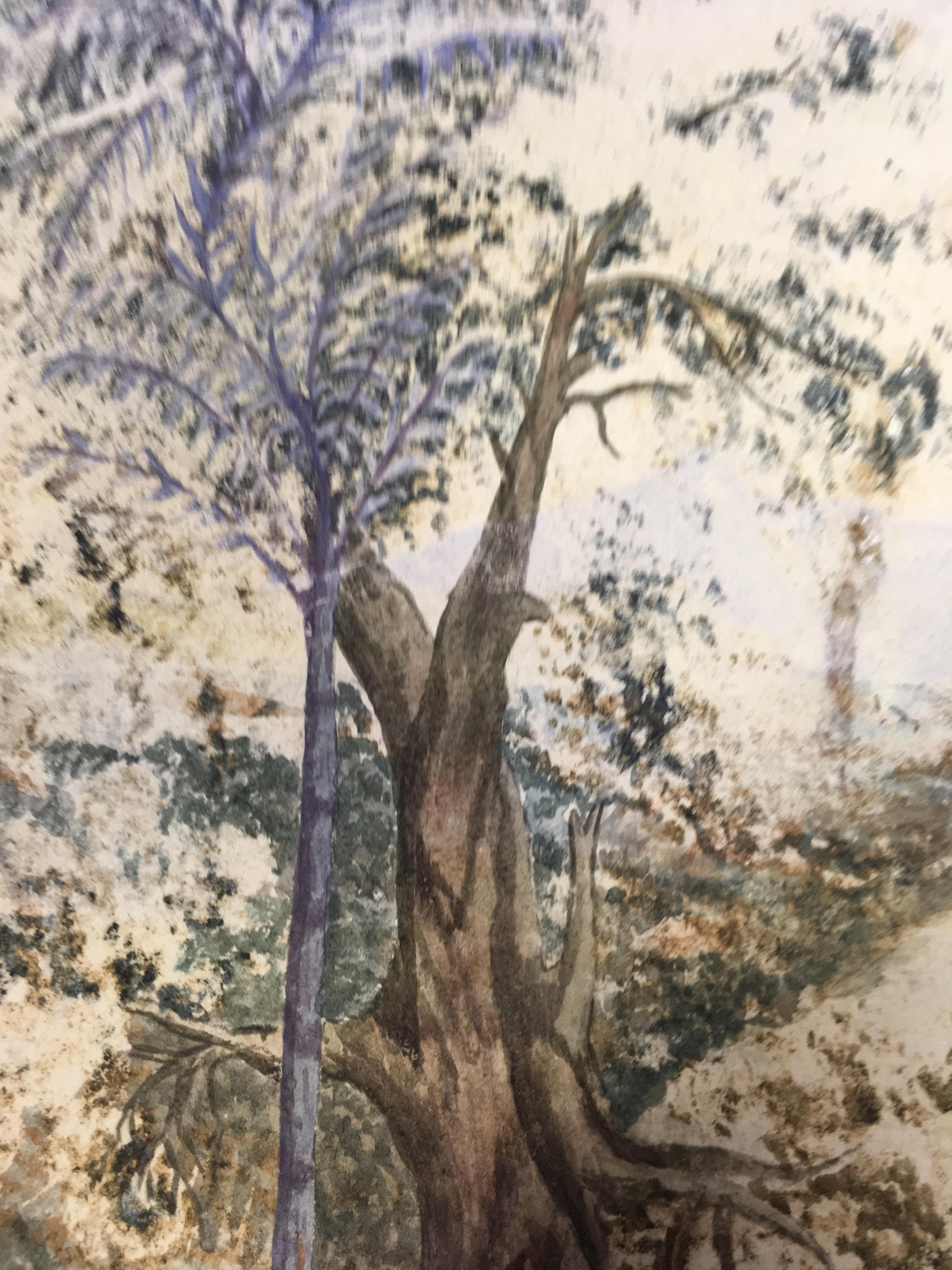 Lot 168 - COLONIAL SCHOOL (19th CENTURY) AN EASTERN RIVER watercolour 26.5 x 44.5cm / 10 1/2 x 17 1/2in It has