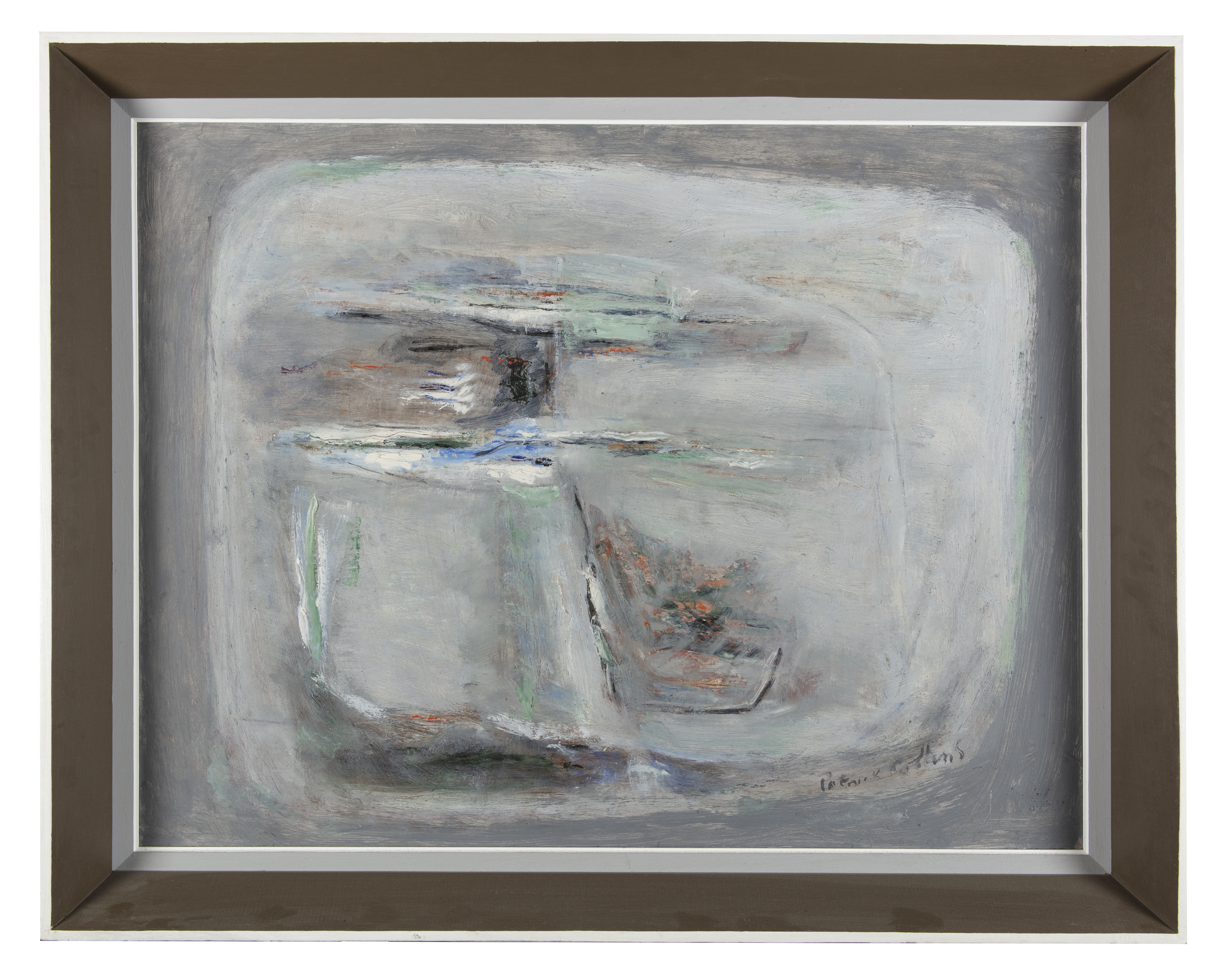Lot 19 - Patrick Collins HRHA (1911-1994)Sligo Landscape (1965-67)Oil on canvas 69.5 x 90cm (27¼ x 35½)