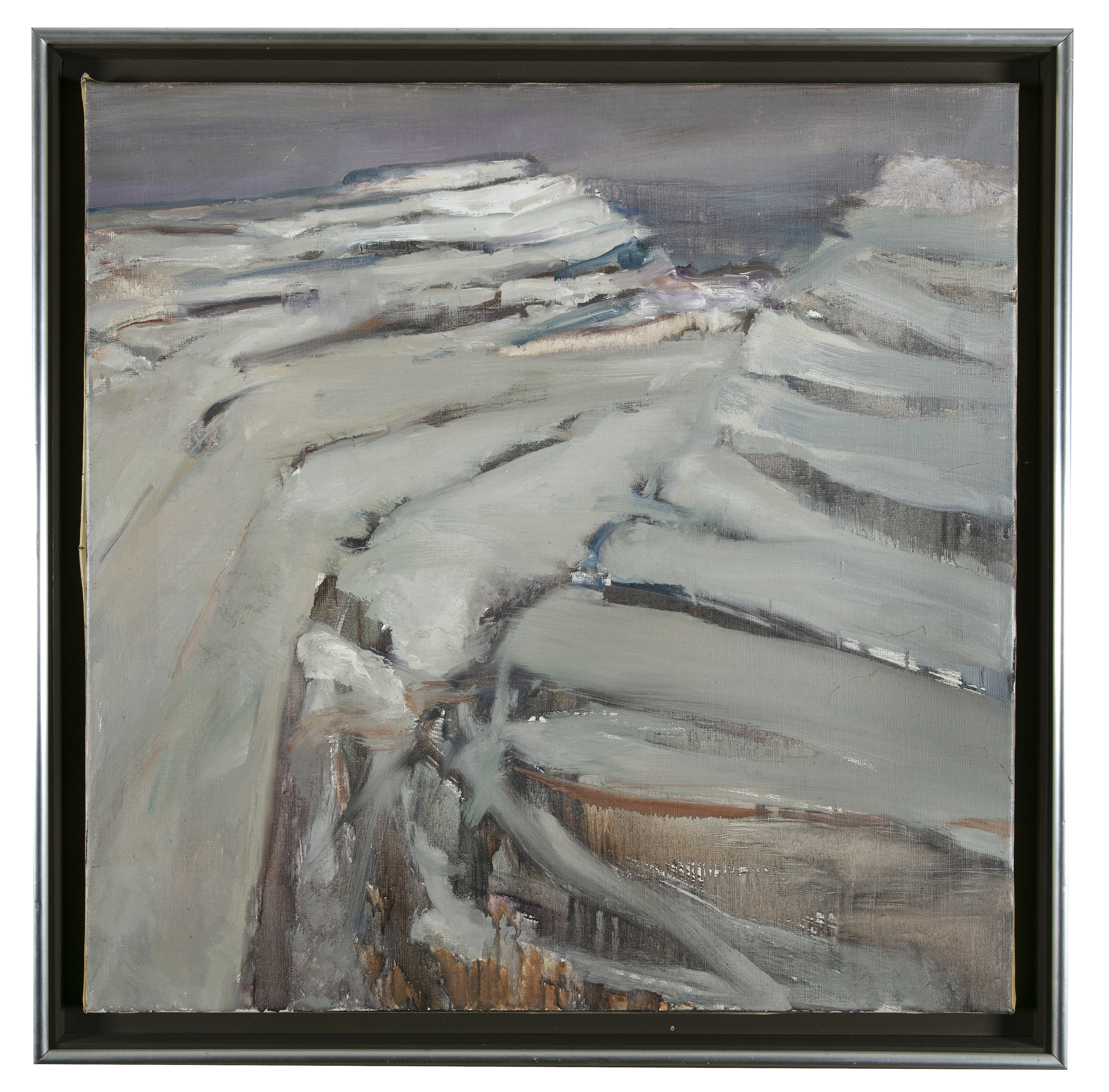 Lot 18 - Barrie Cooke HRHA (1931-2014)Mullough Mor (1979)Oil on canvas, 75 x 75cm (29½ x 29½)Signed and dated