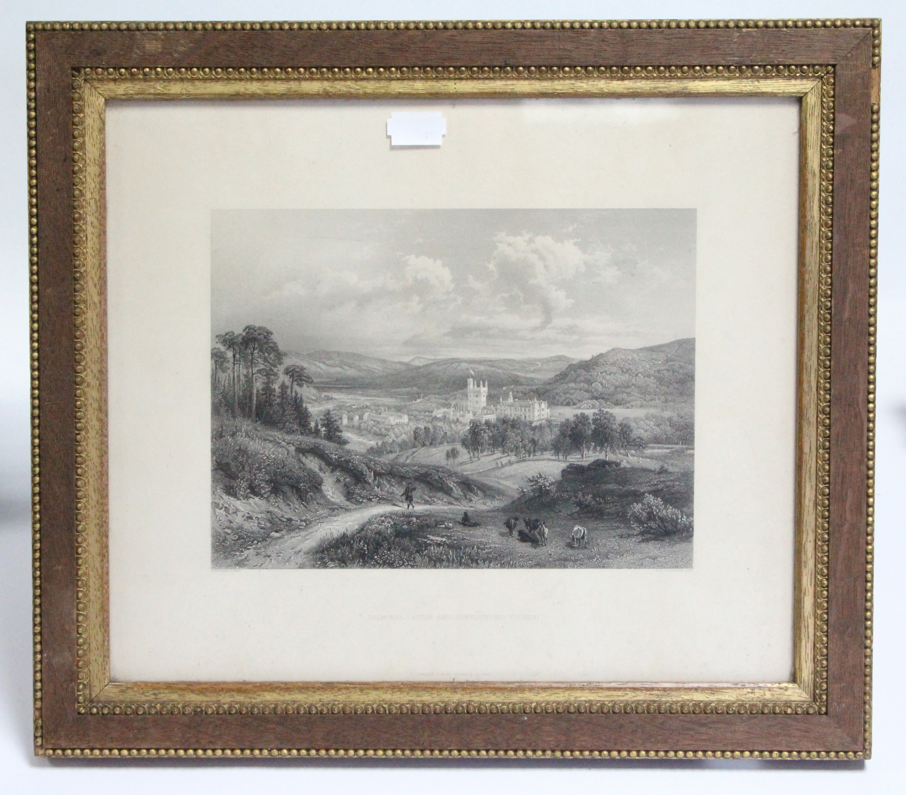 """Lot 265 - Three black & white prints titled: """"Completion of The Cairn on Cairn Gowan"""", """"Balmoral Forest"""
