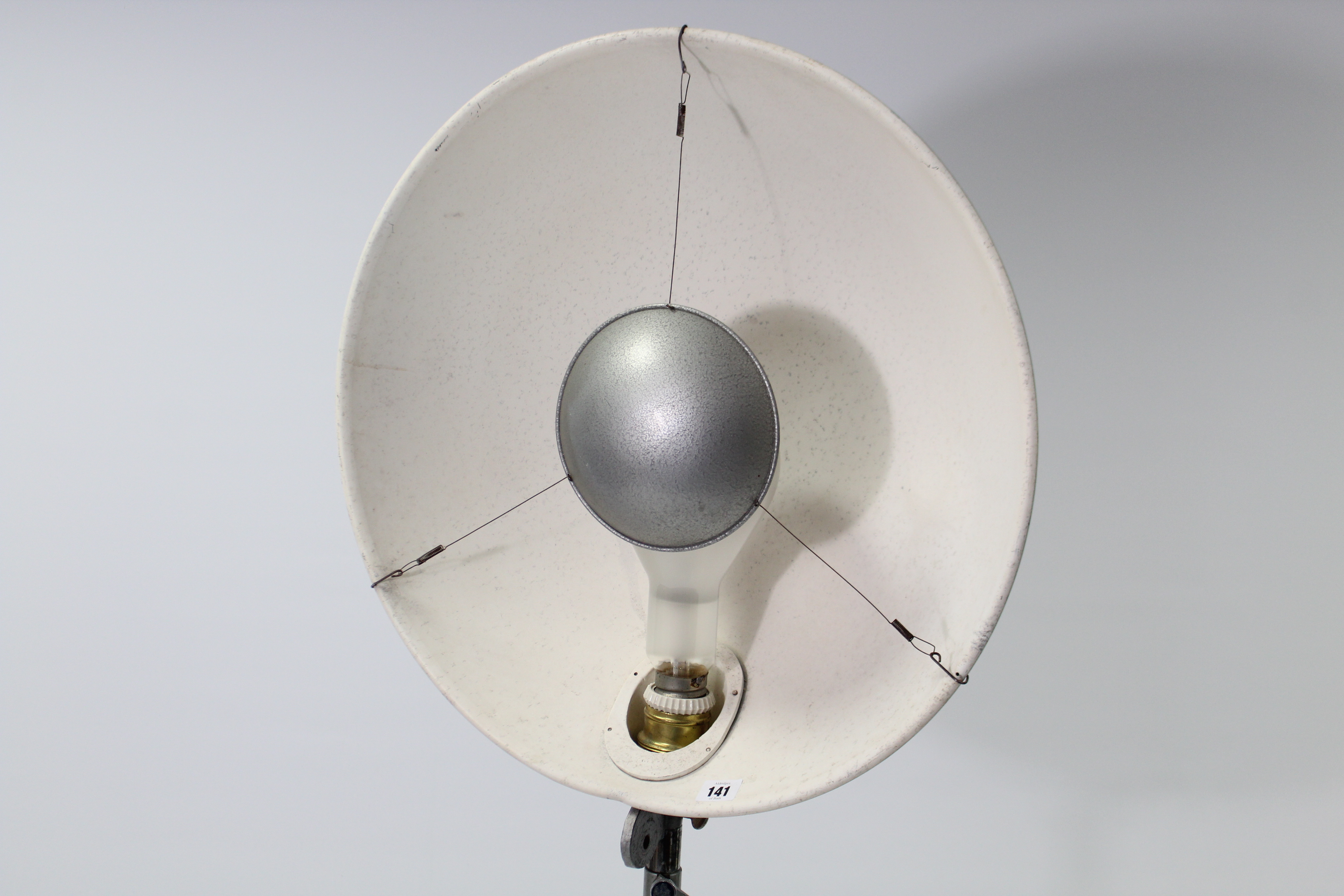 Lot 141 - A Malham photography lamp on triform stand.