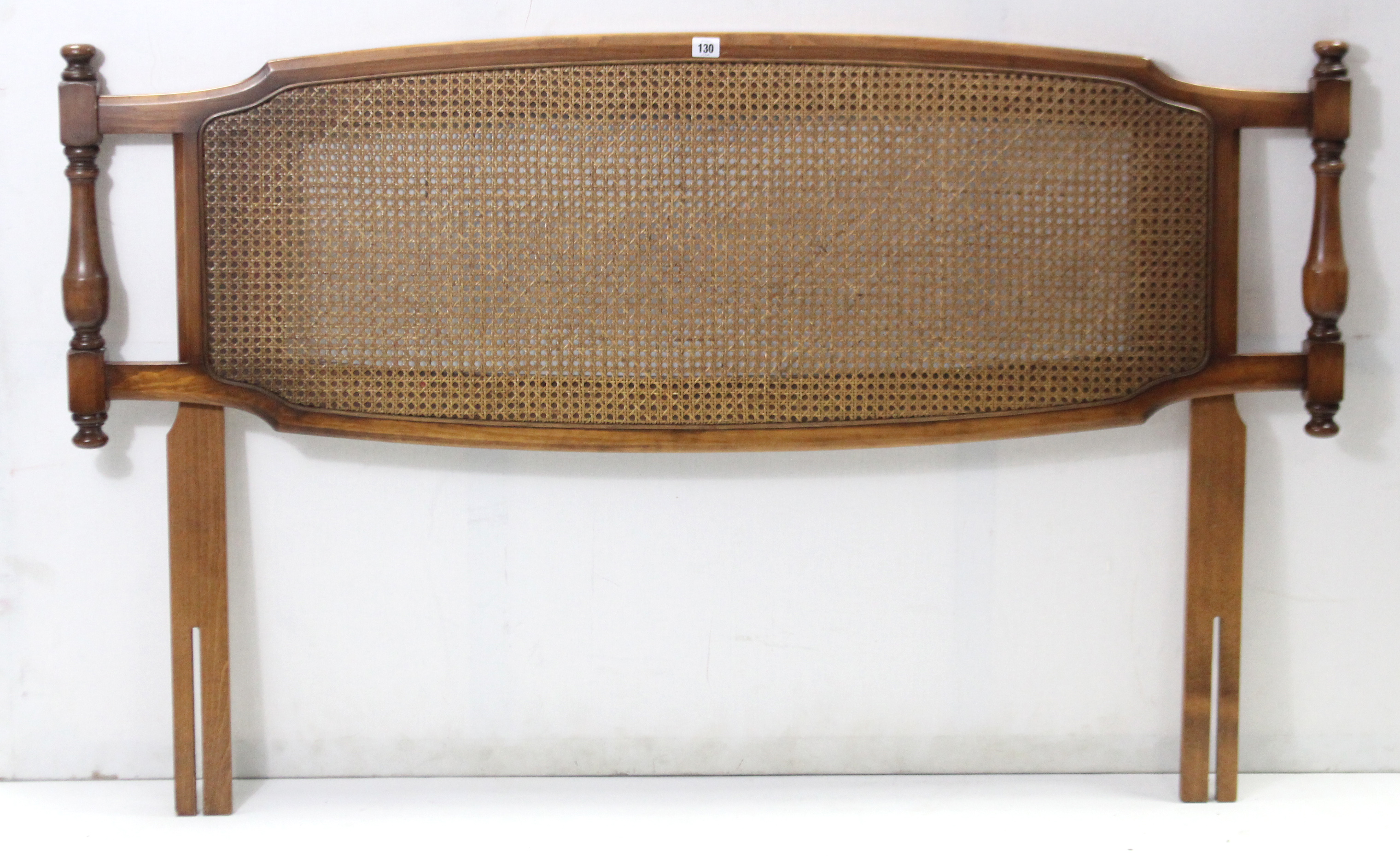 "Lot 130 - A brass frame fire screen inset mesh front, 26¼"" wide; together with a mahogany box commode, 19½"""