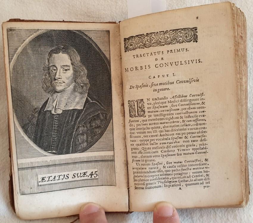 Lot 23 - Thomas Willis (1621-1675) PATHOLOGIAE CEREBRI ET NERVOSI GENERIS SPECIMEN IN QUO AGITUR DE MORBIS