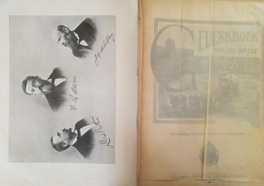 Lot 57 - Andriessen, W F Gedenkboek van den Oorlog in Zuid-Afrika (1904) Tan cloth-boards, gilt and black