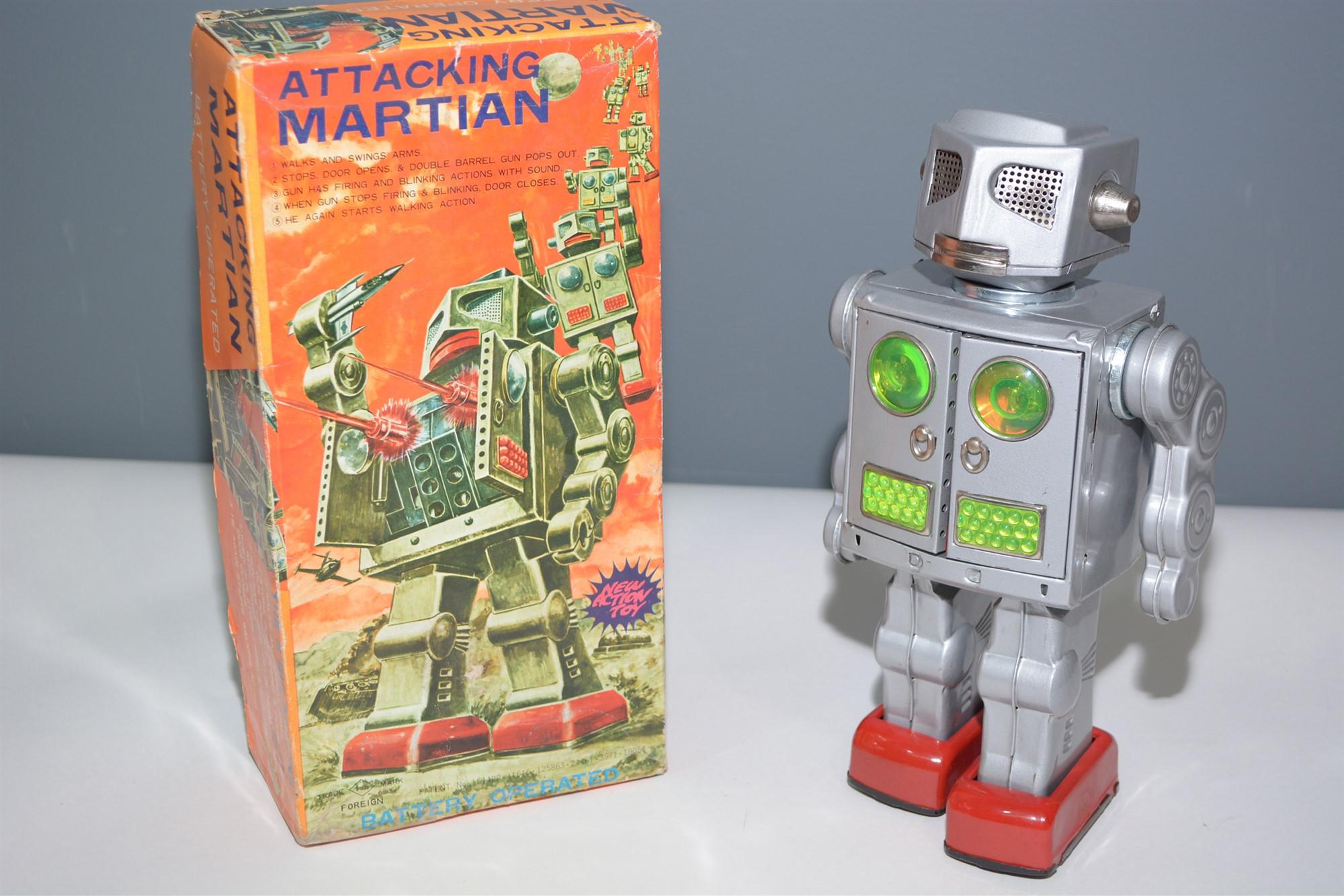 Lot 1009 - Horikawa Attacking Martian