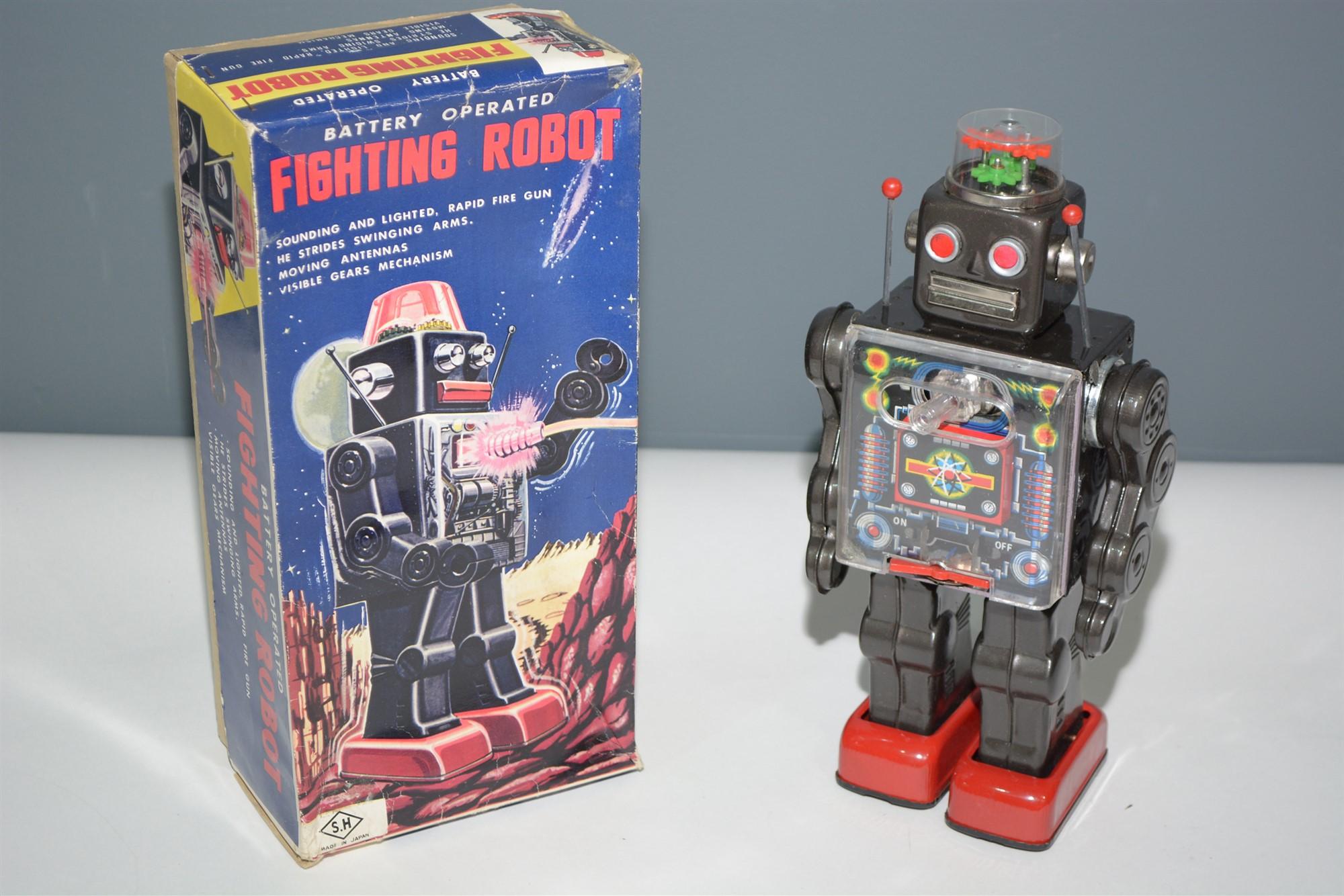 Lot 1016 - SH Horikawa Fighting Robot