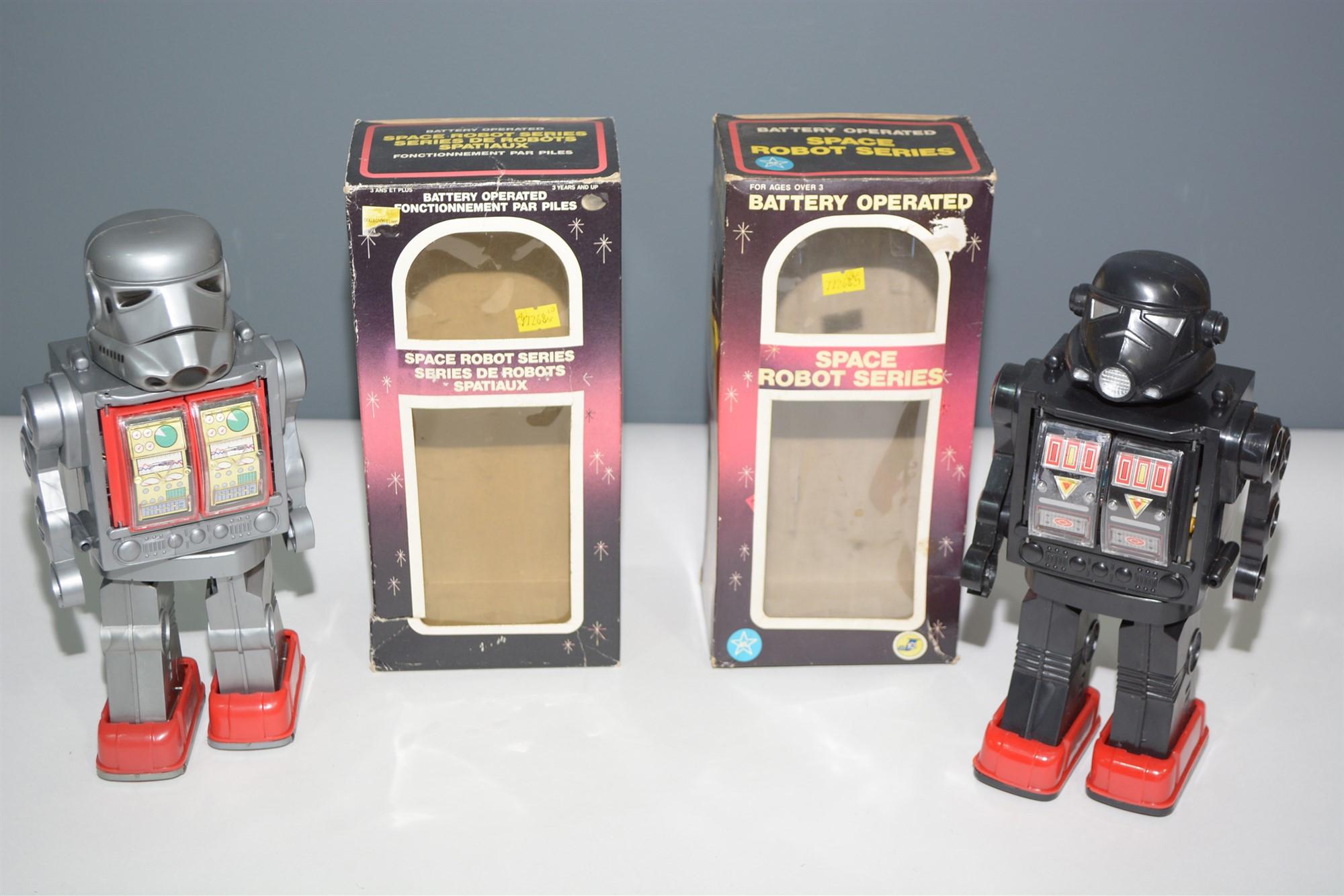 Lot 1018 - Space Robots
