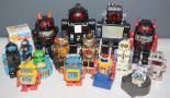 Lot 1057 - Plastic Robots