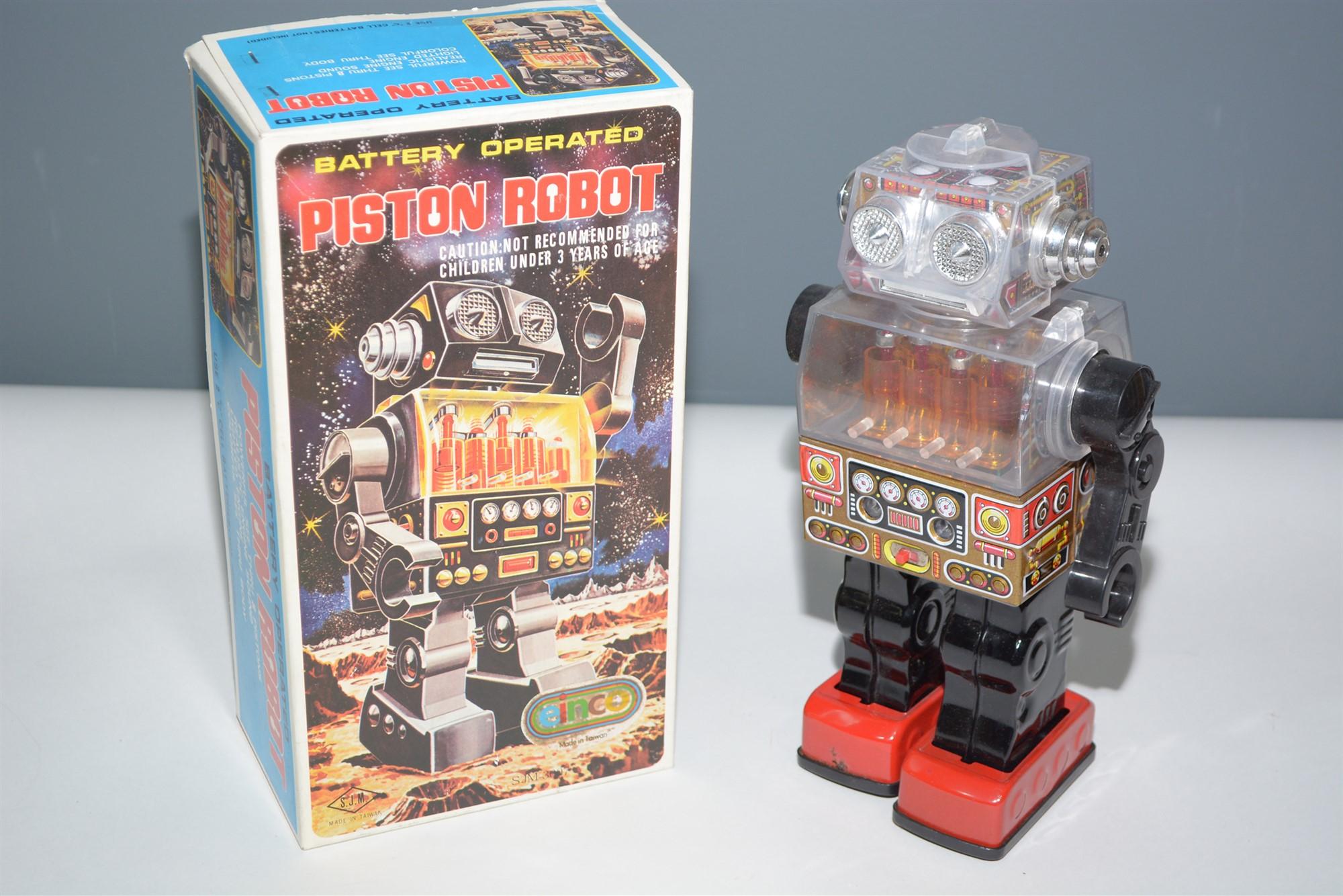 Lot 1019 - SJM Piston Robot